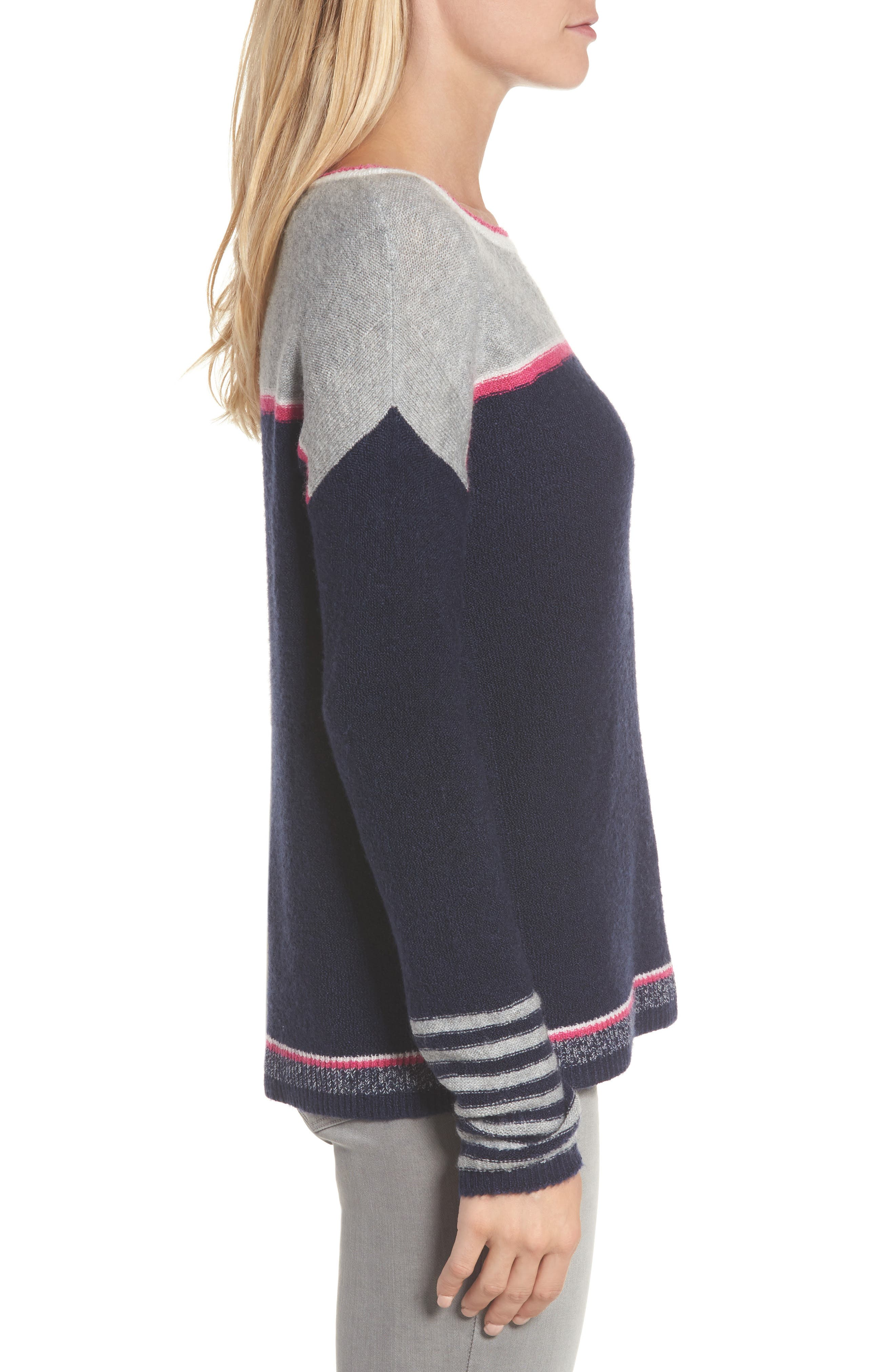 Button Back Sweater,                             Alternate thumbnail 3, color,                             410