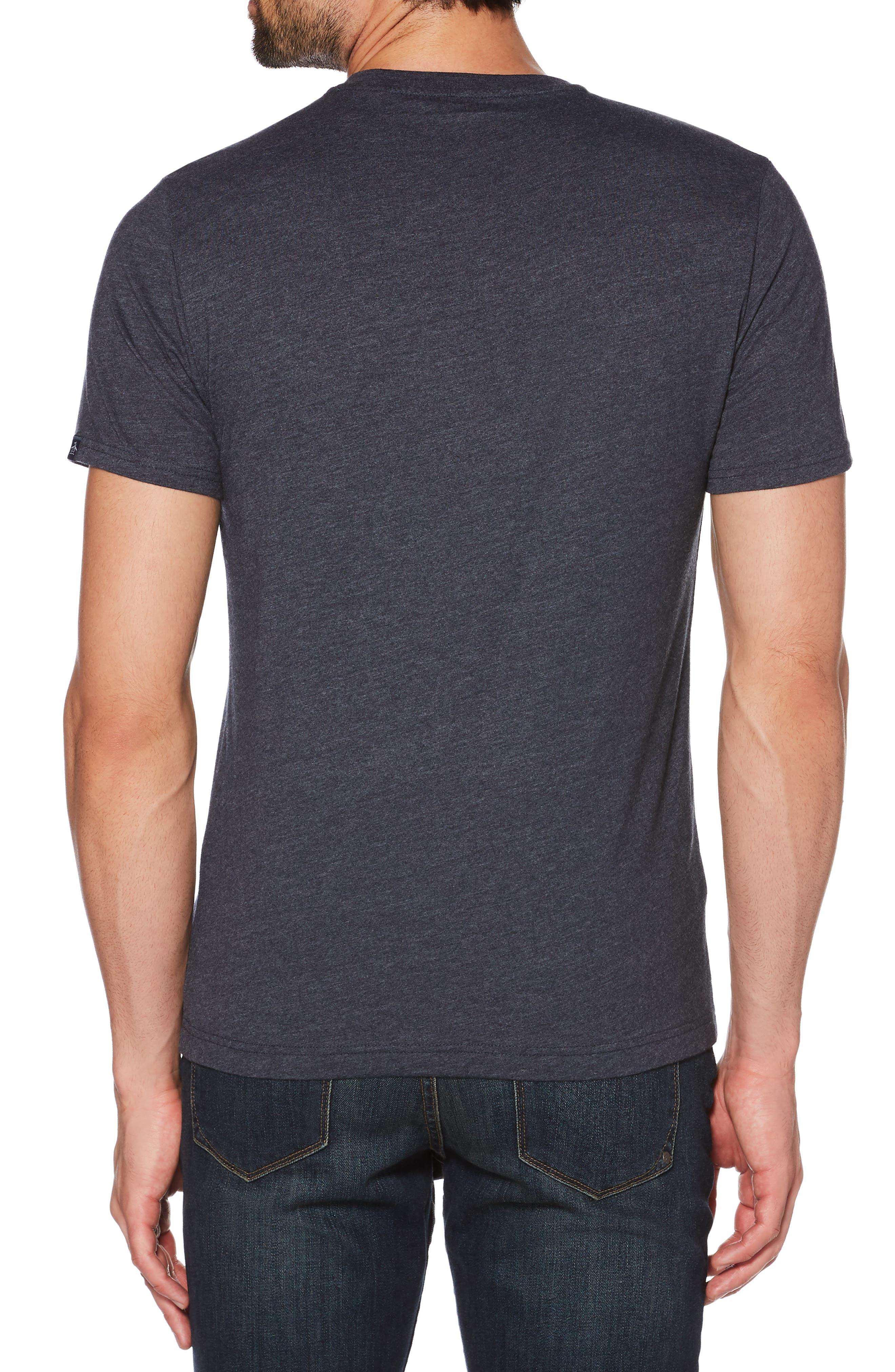 Flocked Ombré Circle Pete T-Shirt,                             Alternate thumbnail 2, color,                             DARK SAPPHIRE