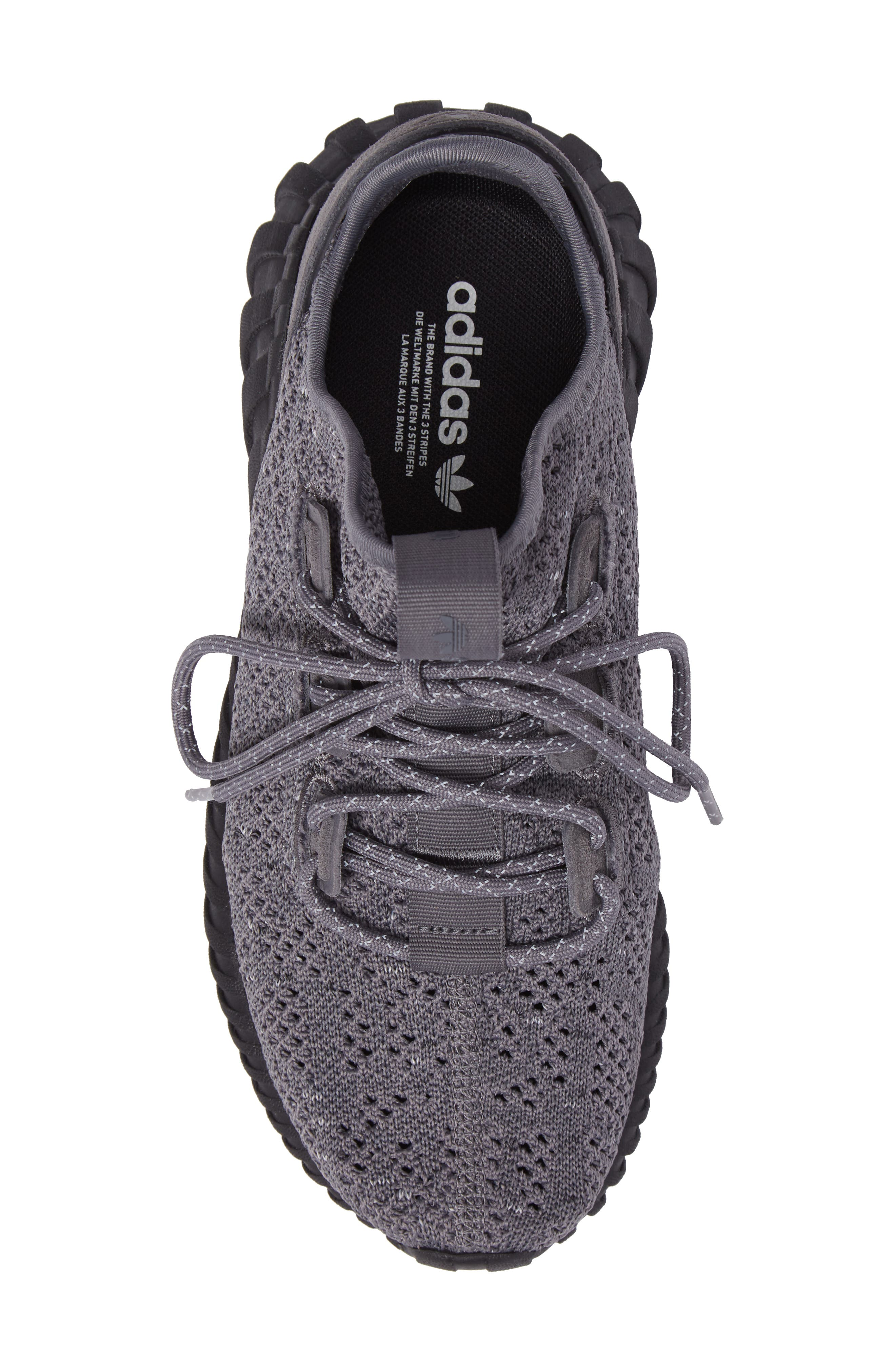 Tubular Doom Sock Primeknit Sneaker,                             Alternate thumbnail 5, color,                             023