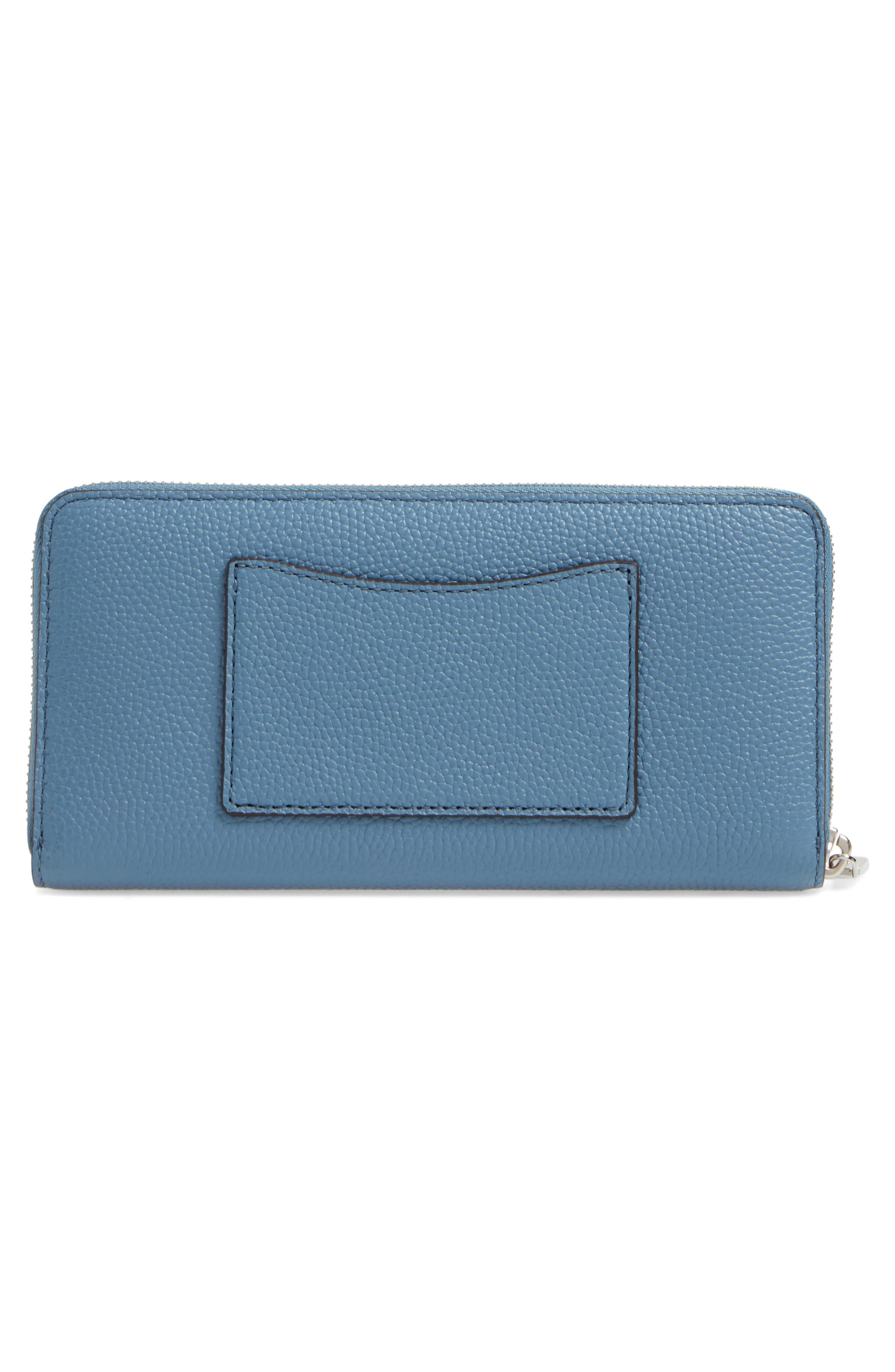 Mercer Leather Continental Wallet,                             Alternate thumbnail 11, color,