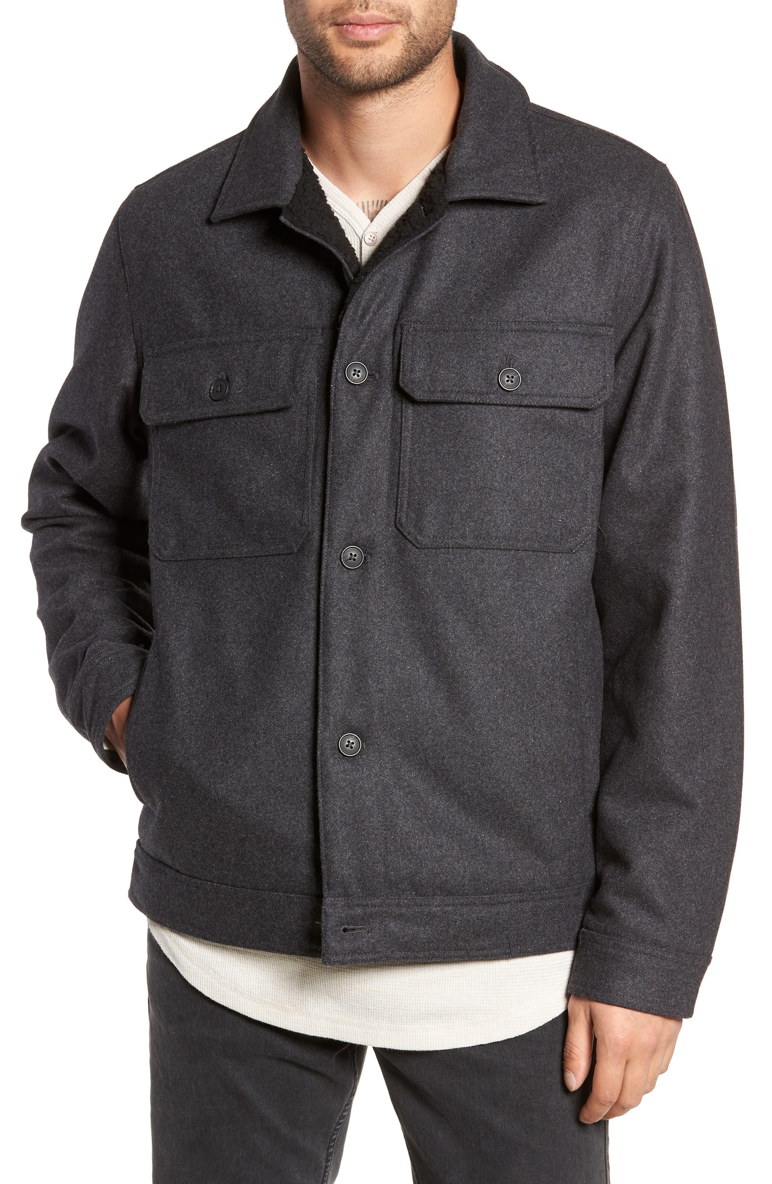Rossmore Jacket,                             Alternate thumbnail 4, color,                             ASPHALT