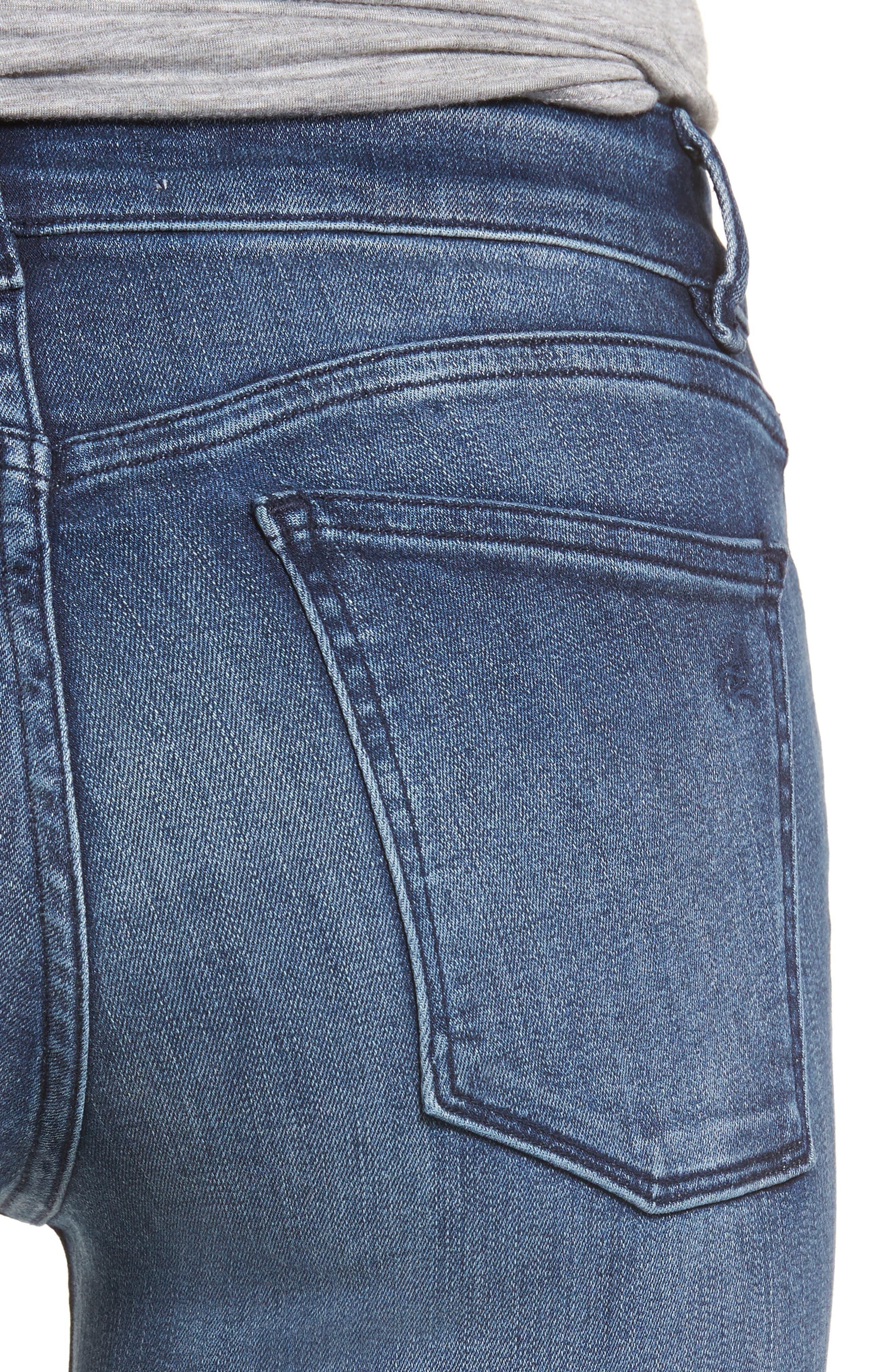 Emma Power Legging Jeans,                             Alternate thumbnail 4, color,                             425
