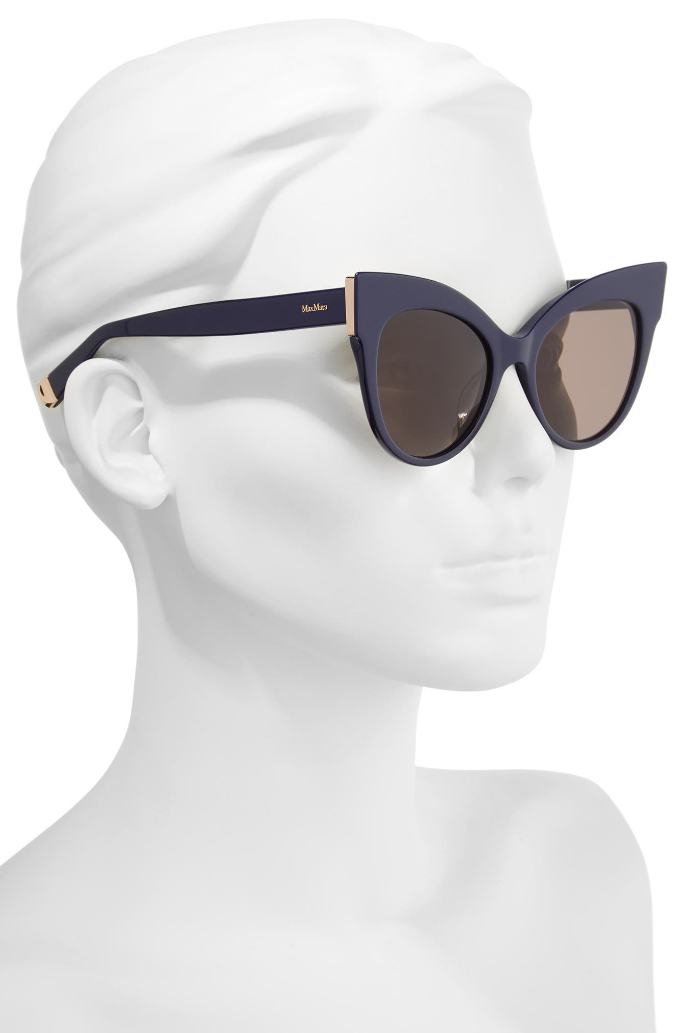 Anita 52mm Cat Eye Sunglasses,                             Alternate thumbnail 7, color,