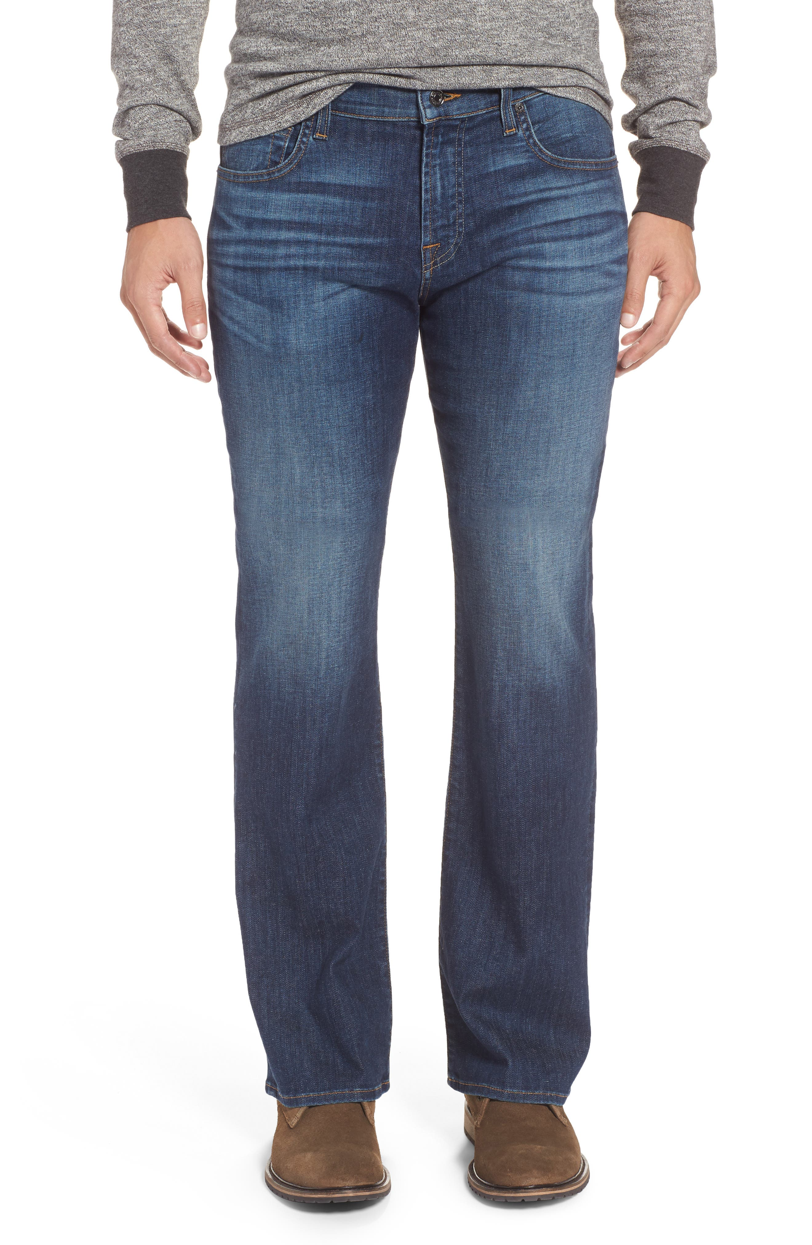 Brett Bootcut Jeans,                         Main,                         color, 400