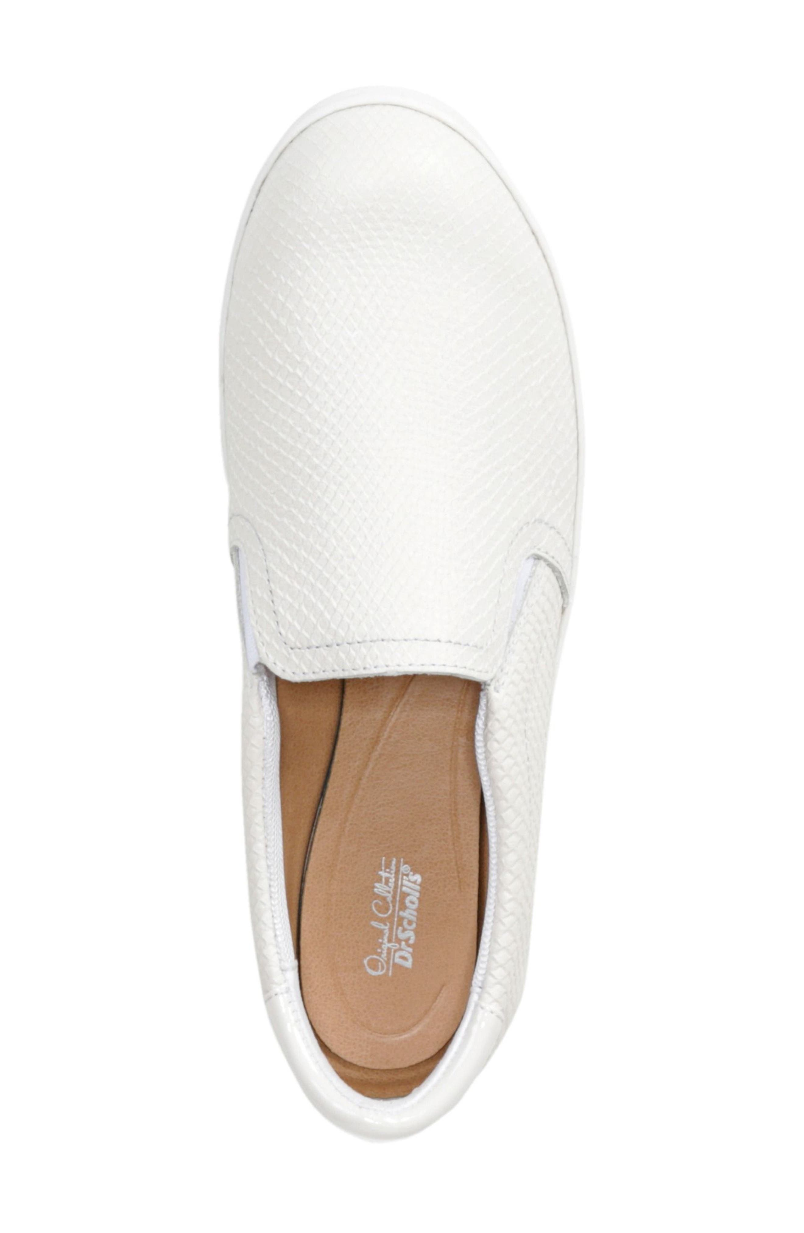 Original Collection 'Scout' Slip On Sneaker,                             Alternate thumbnail 3, color,                             GARDENIA LEATHER