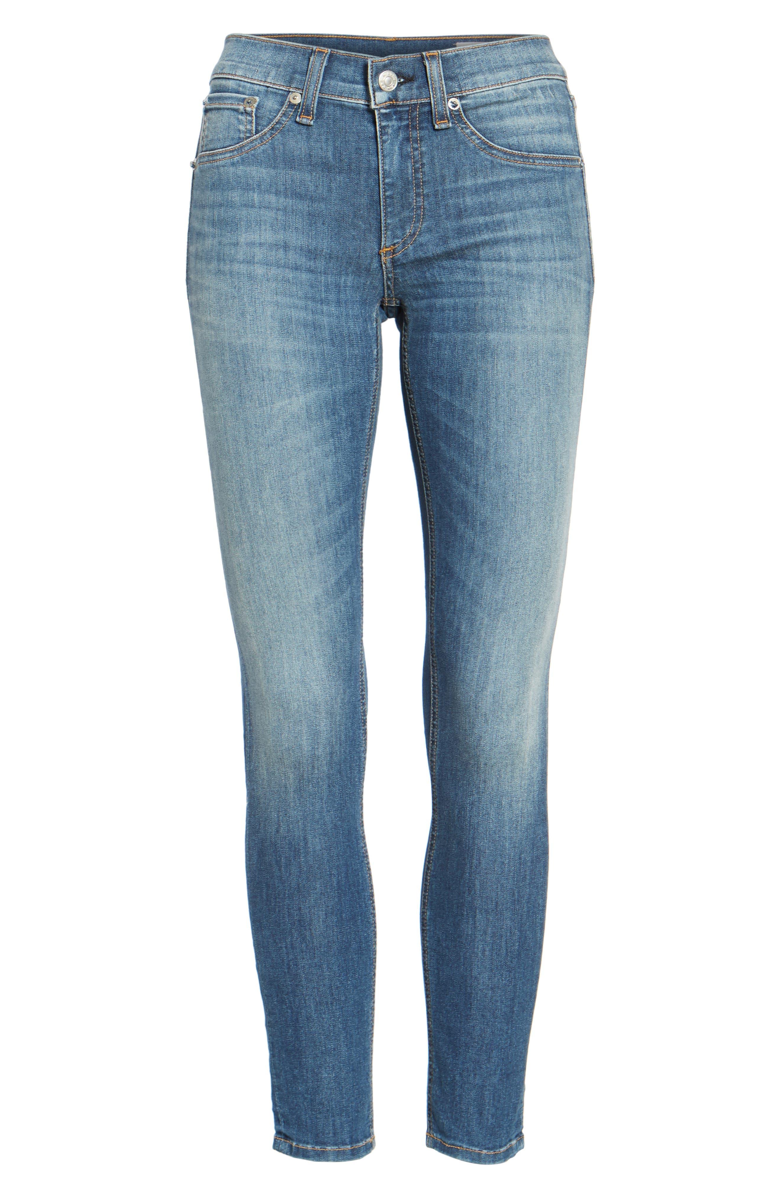 Capri Crop Skinny Jeans,                             Alternate thumbnail 2, color,                             RAE