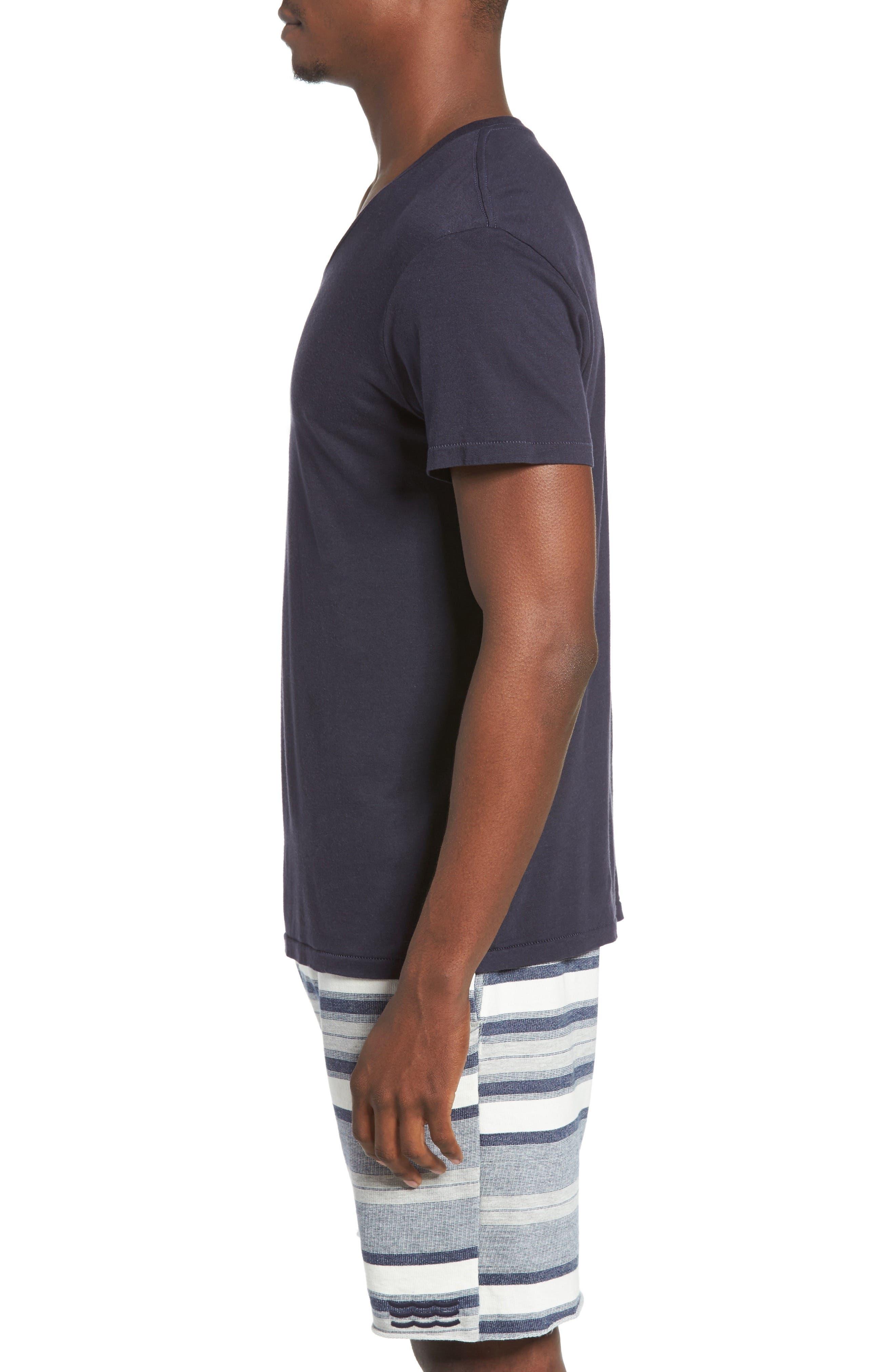 Essential V-Neck T-Shirt,                             Alternate thumbnail 27, color,