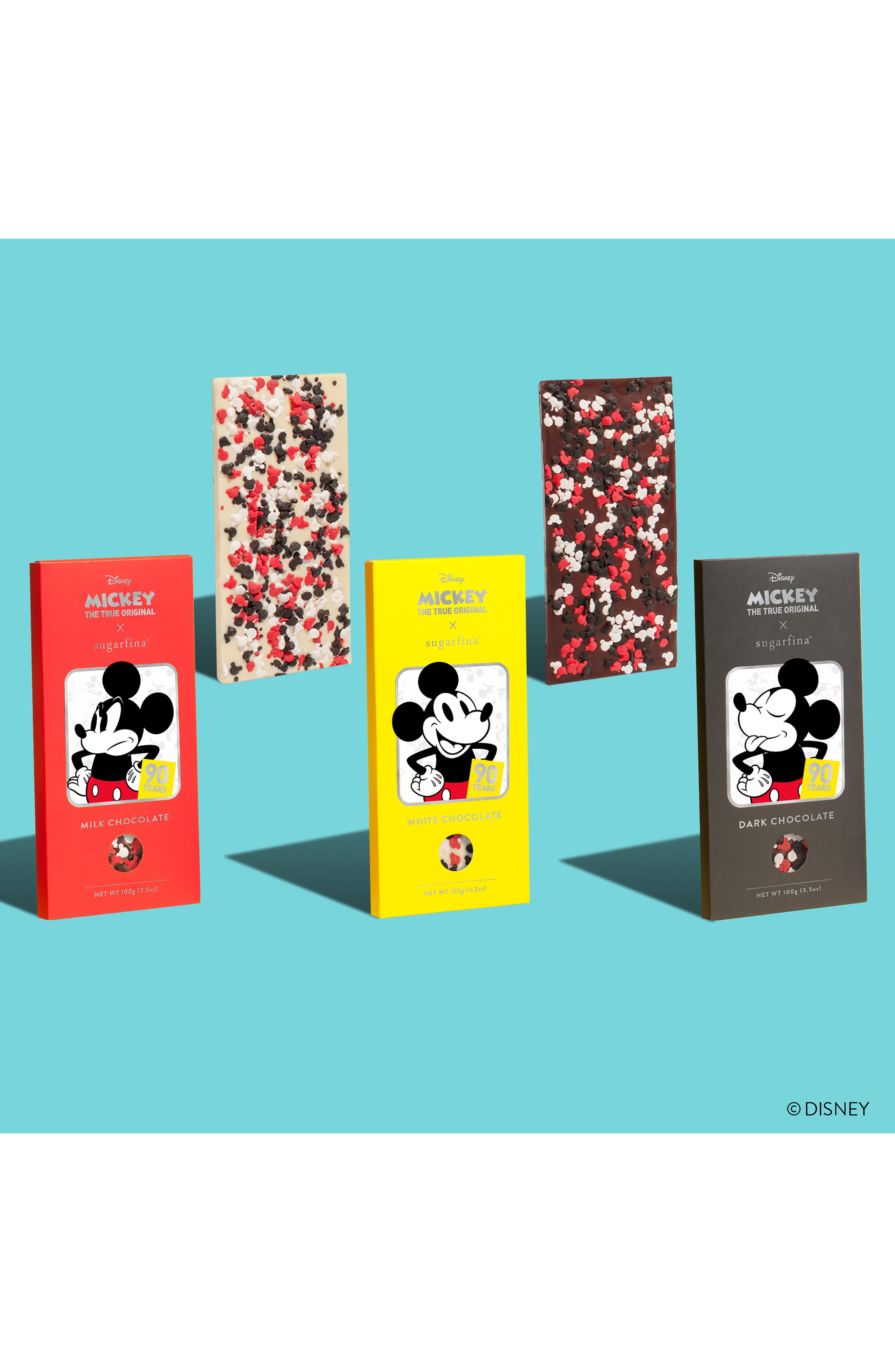 SUGARFINA,                             Mickey Chocolate Bar Trio,                             Alternate thumbnail 6, color,                             600