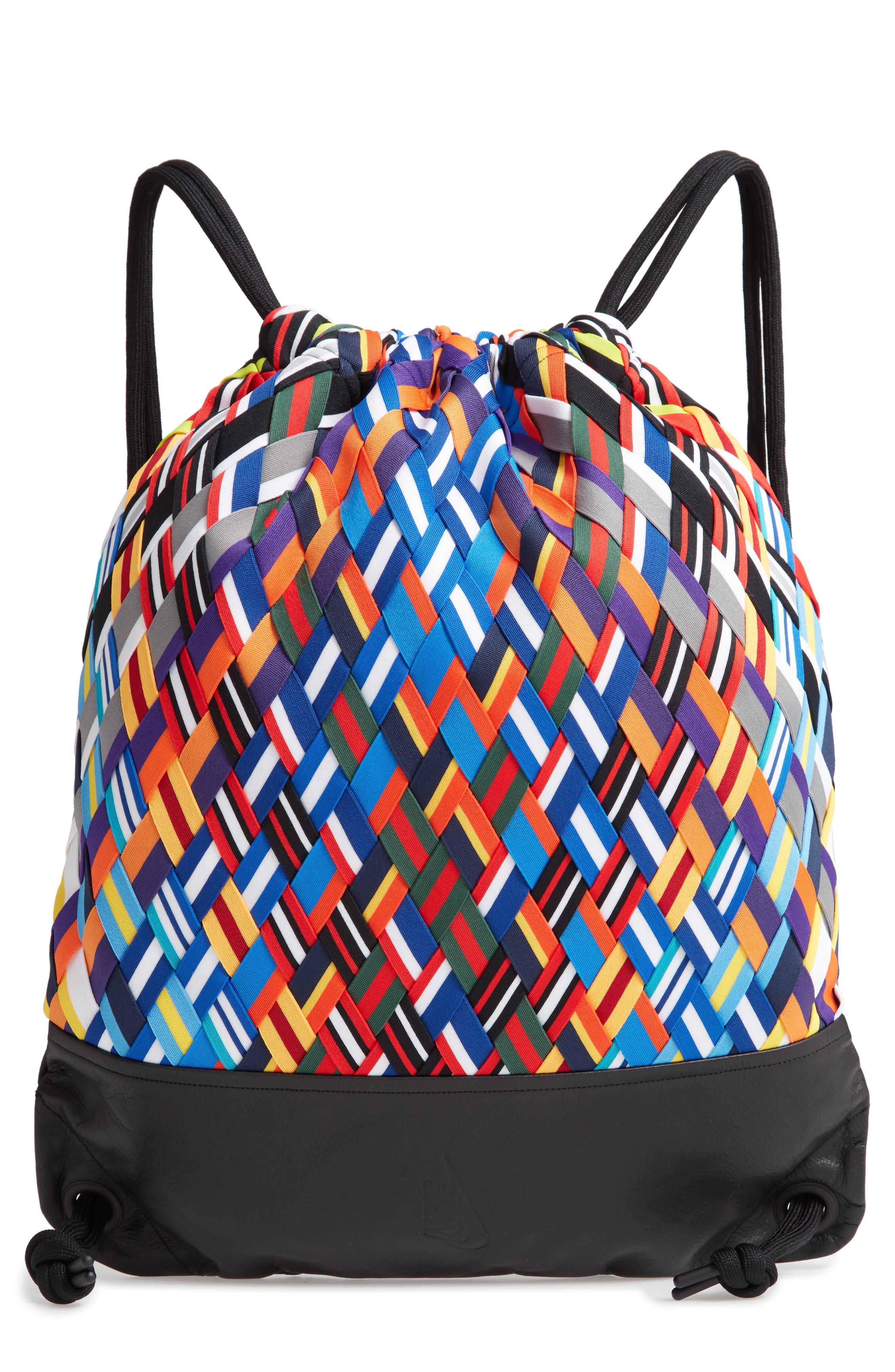 NIKE,                             NikeLab Basketball Backpack,                             Main thumbnail 1, color,                             BLACK