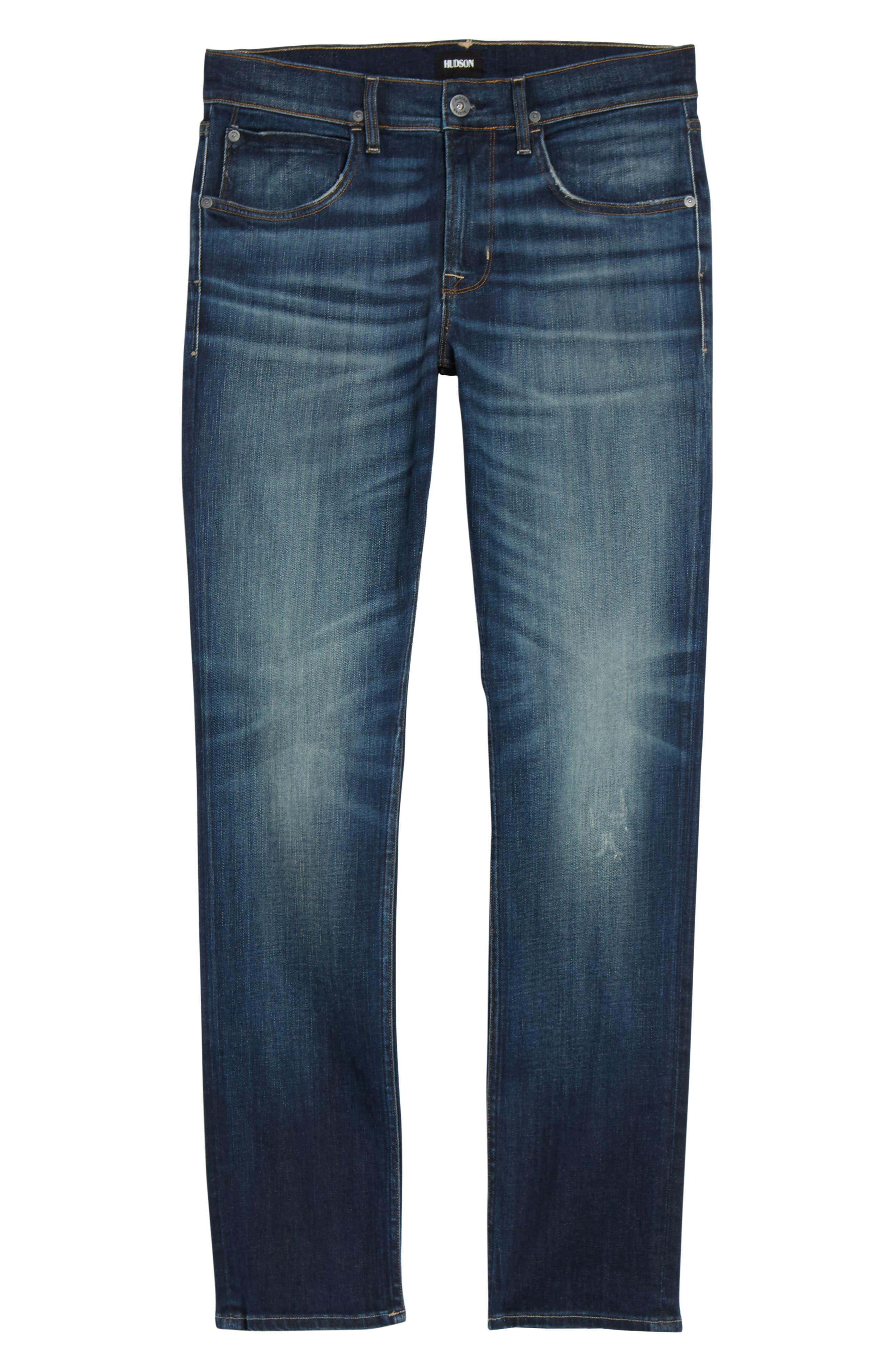Hudson Blake Slim Fit Jeans,                             Alternate thumbnail 6, color,                             420