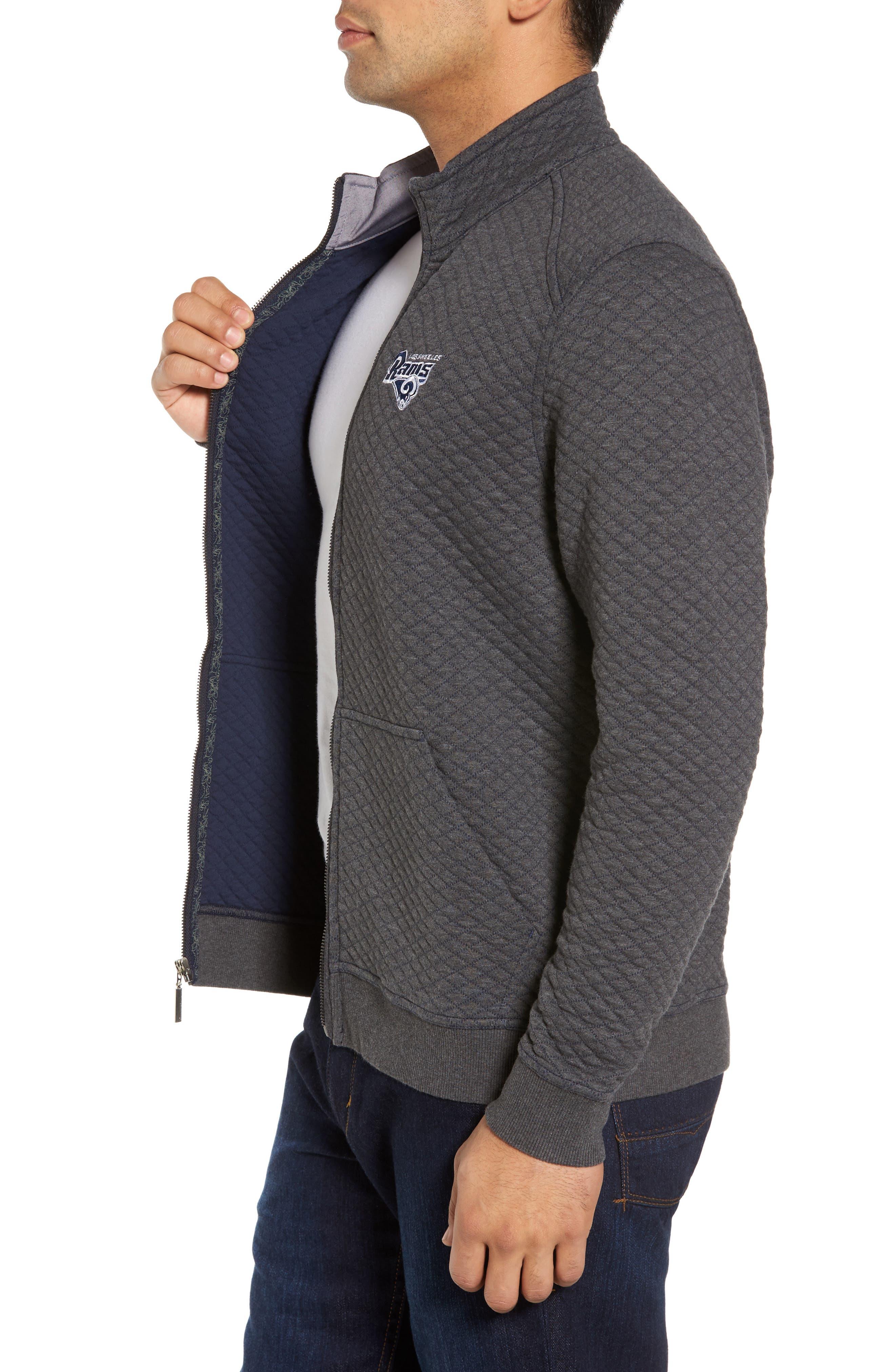 NFL Quiltessential Full Zip Sweatshirt,                             Alternate thumbnail 86, color,