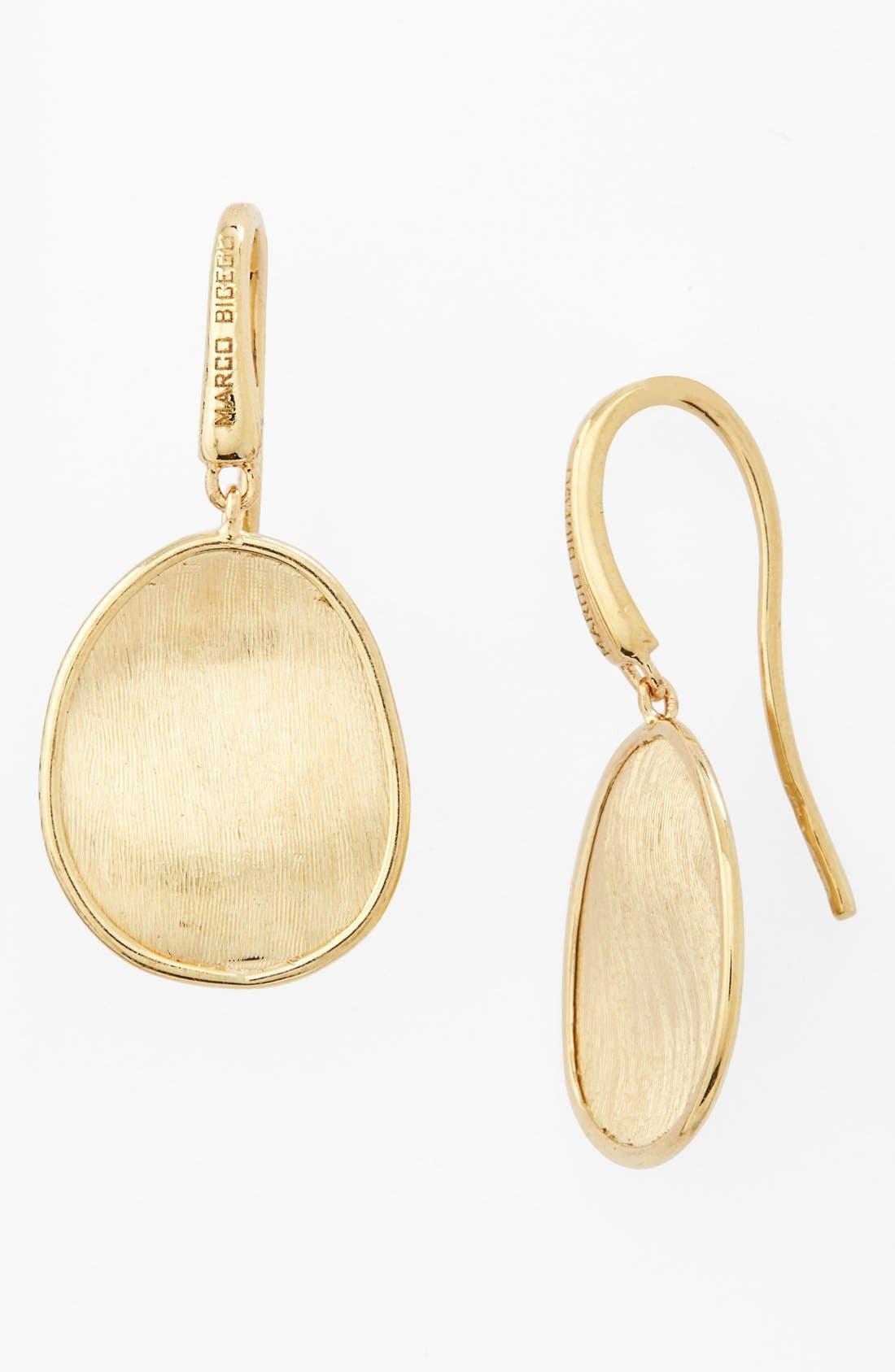 'Lunaria' Drop Earrings,                         Main,                         color, YELLOW GOLD