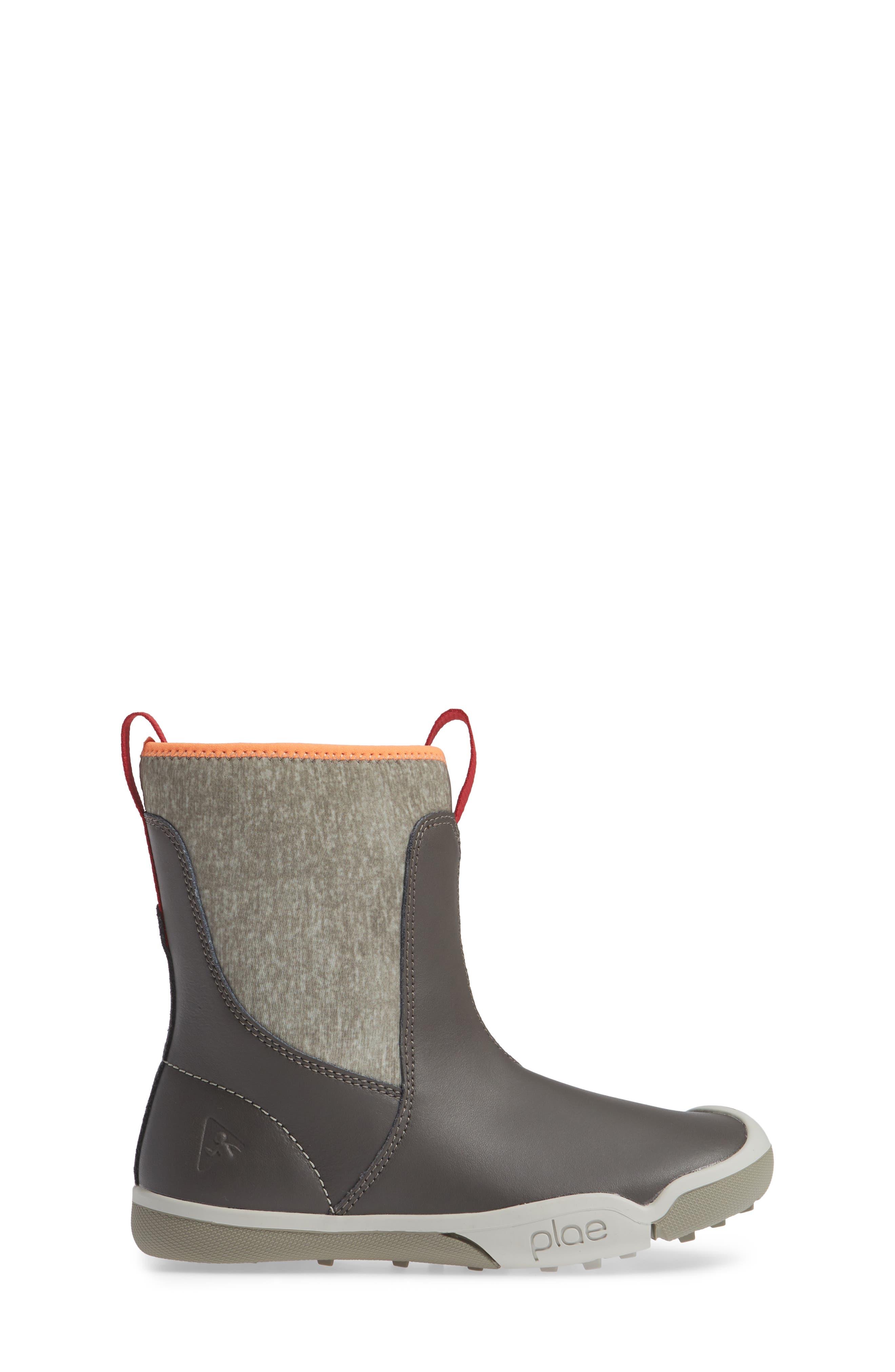 Landyn Boot,                             Alternate thumbnail 3, color,                             ASH GREY