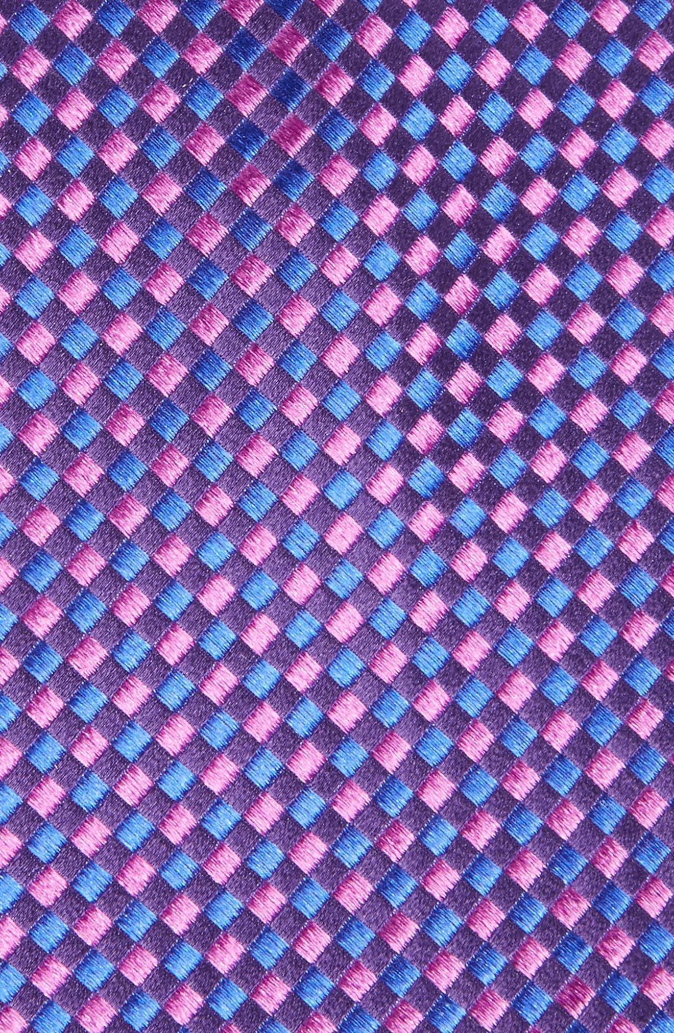 Check Silk Tie,                             Alternate thumbnail 15, color,