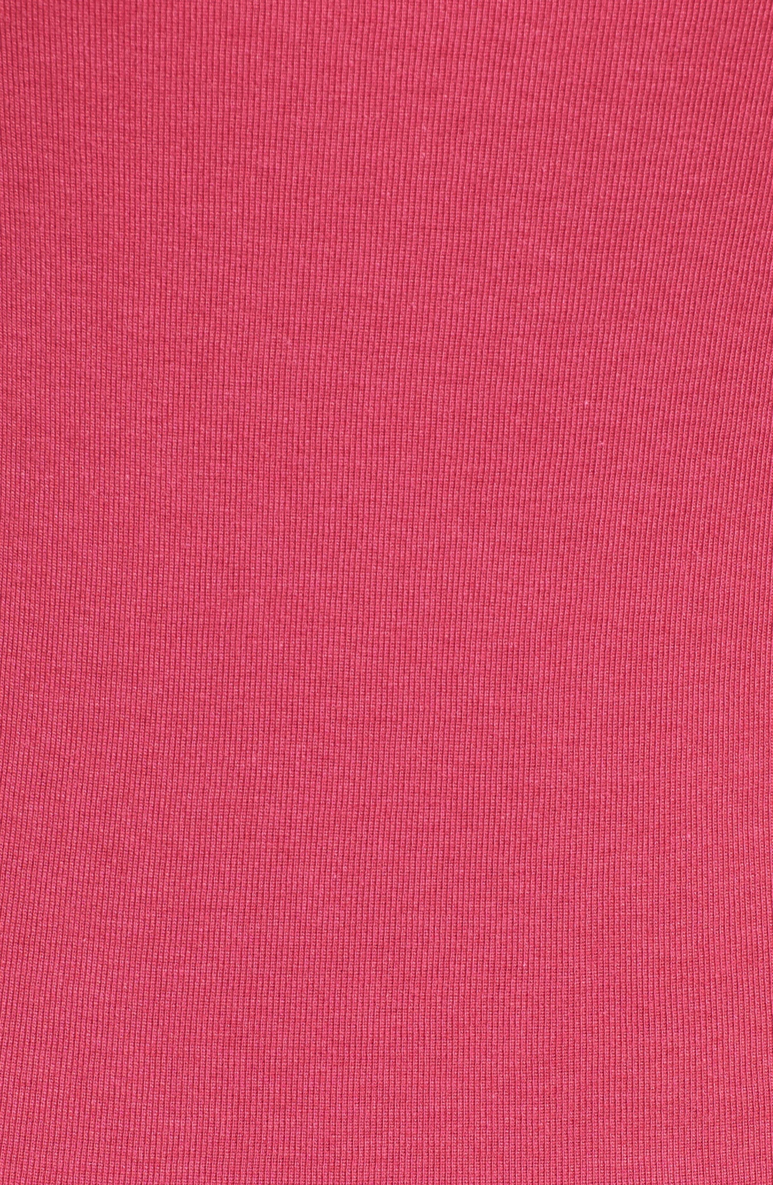 Three Quarter Sleeve Tee,                             Alternate thumbnail 107, color,