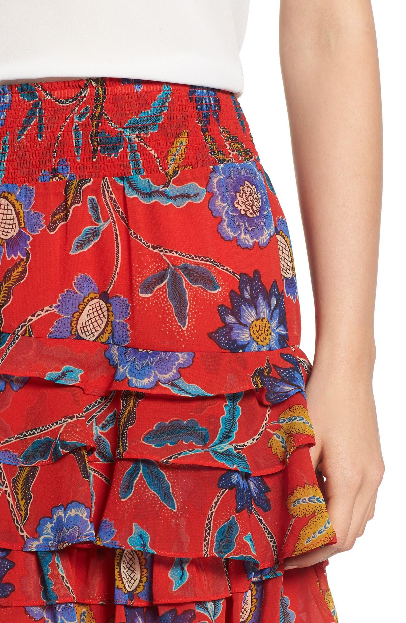Lila Skirt,                             Alternate thumbnail 4, color,                             607