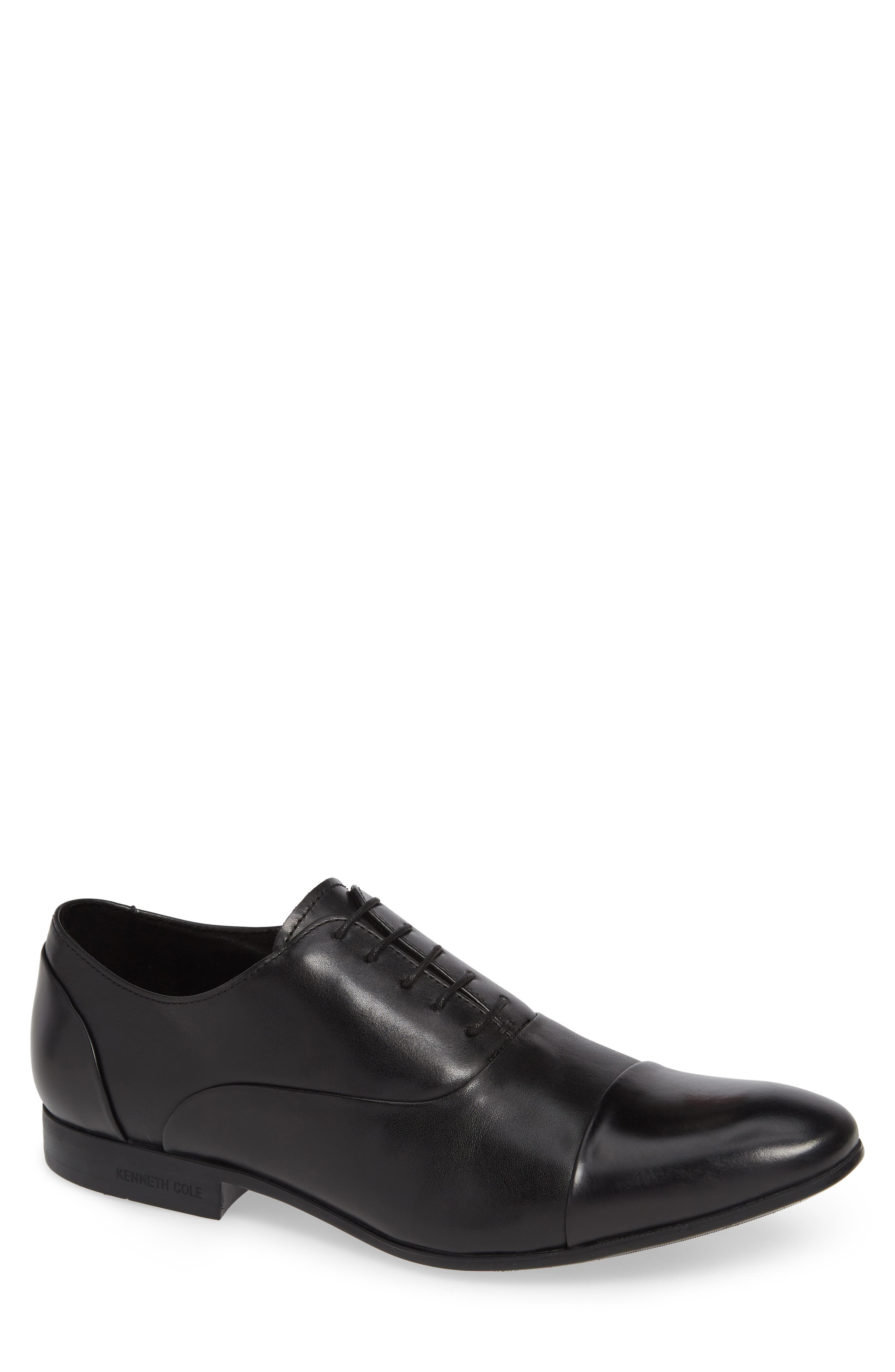 KENNETH COLE NEW YORK Mix Cap Toe Oxford, Main, color, 008
