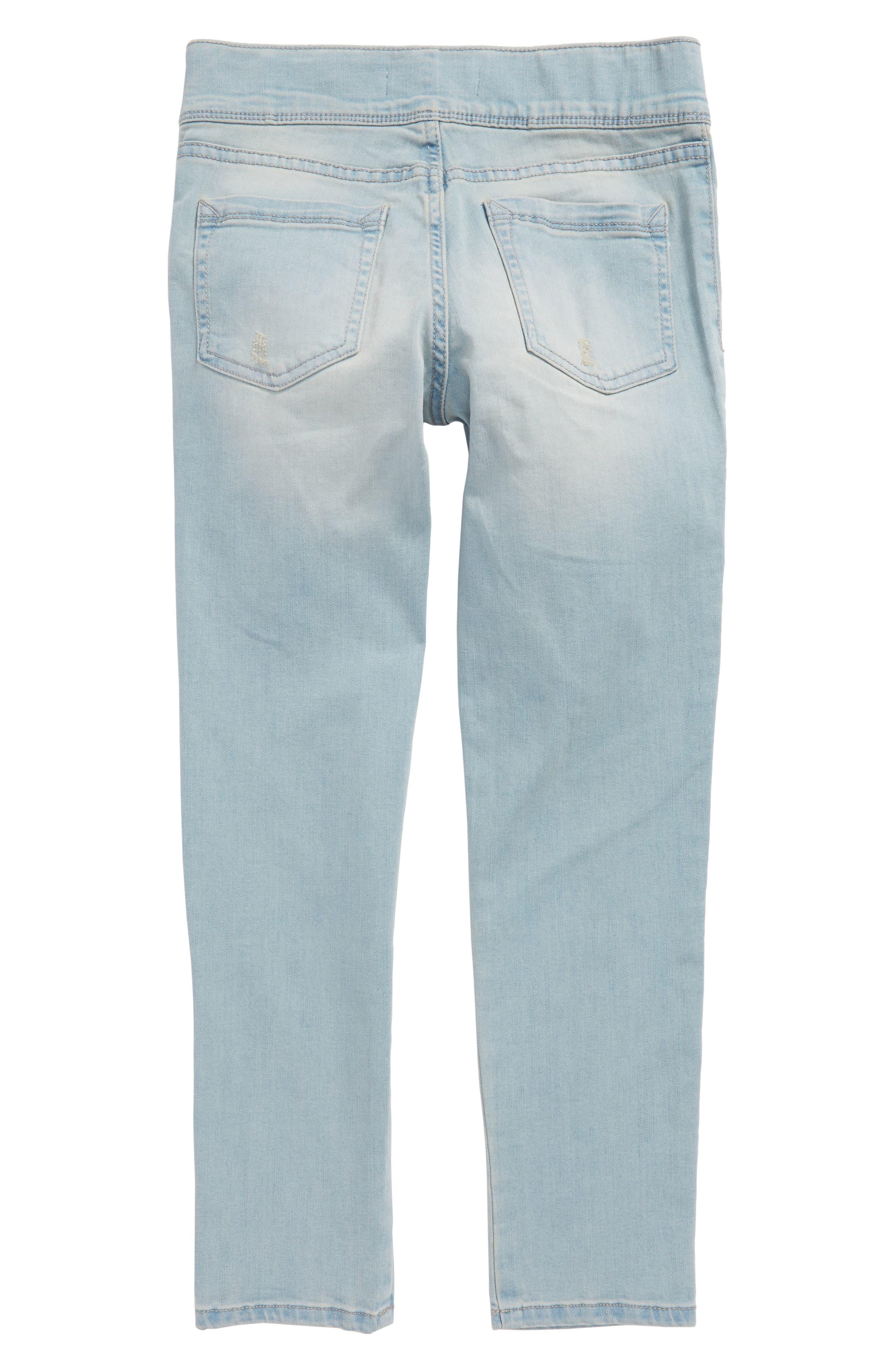 Crop Jeans,                             Alternate thumbnail 2, color,                             420