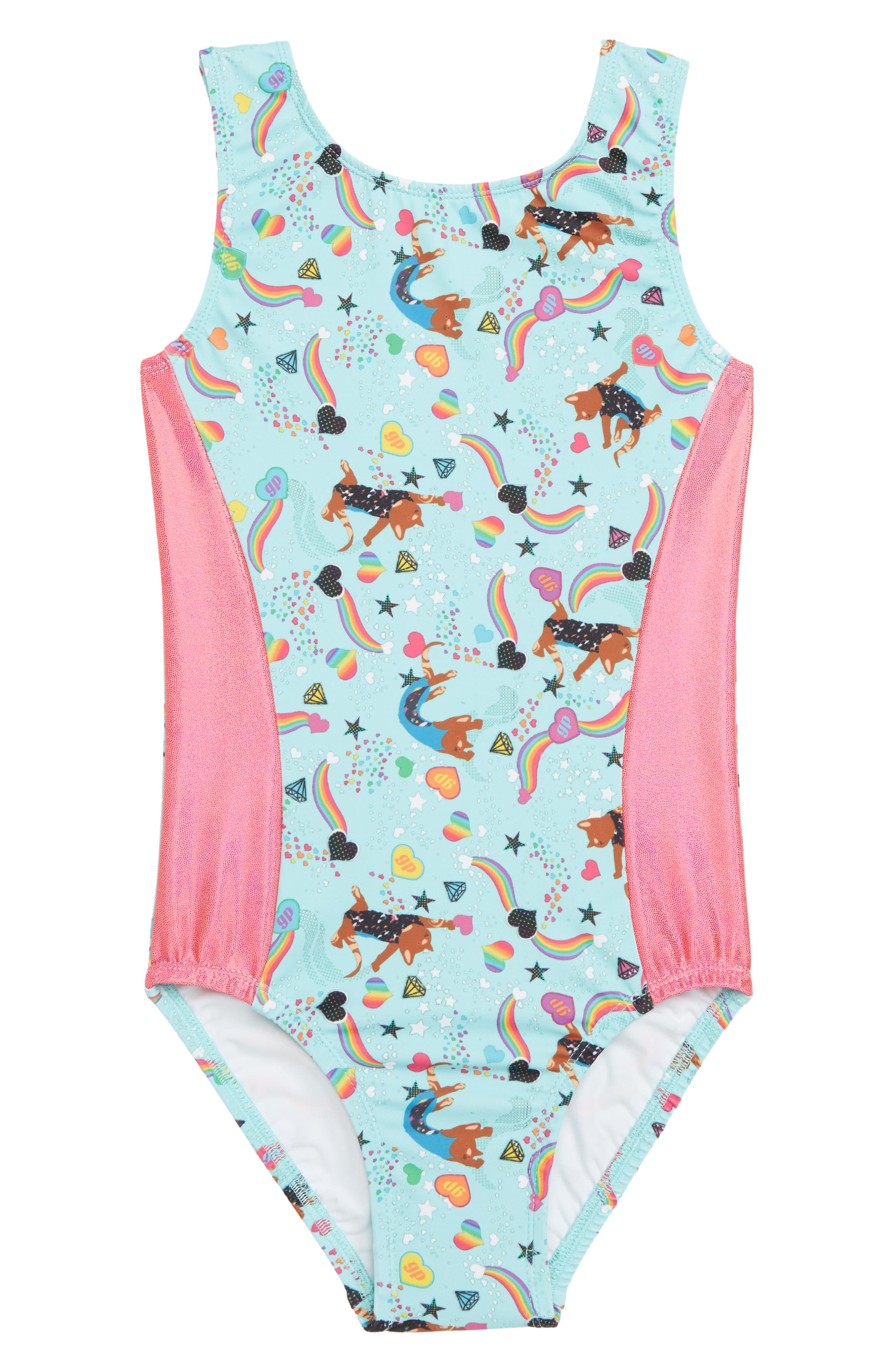 Girls Gp Sport Gym Cat Leotard