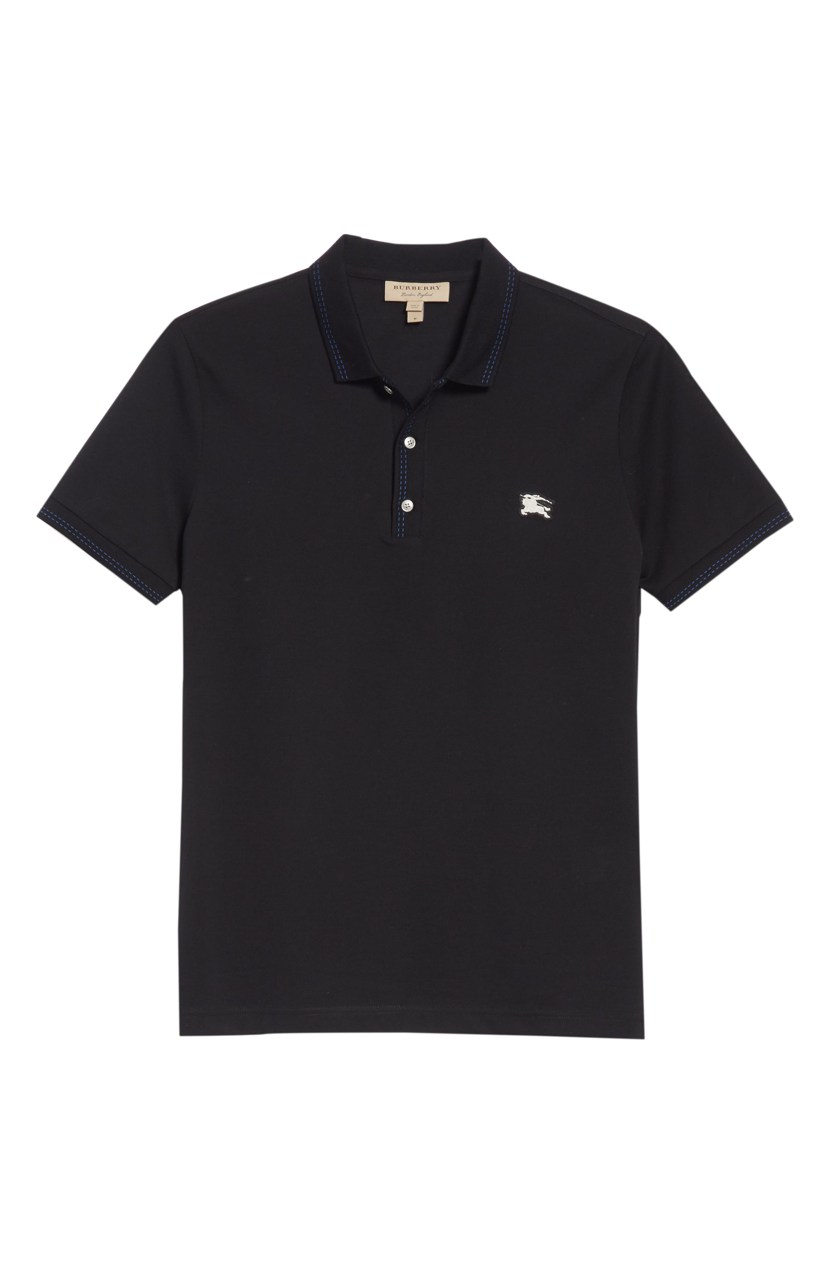Kenforth Polo,                             Alternate thumbnail 6, color,                             BLACK