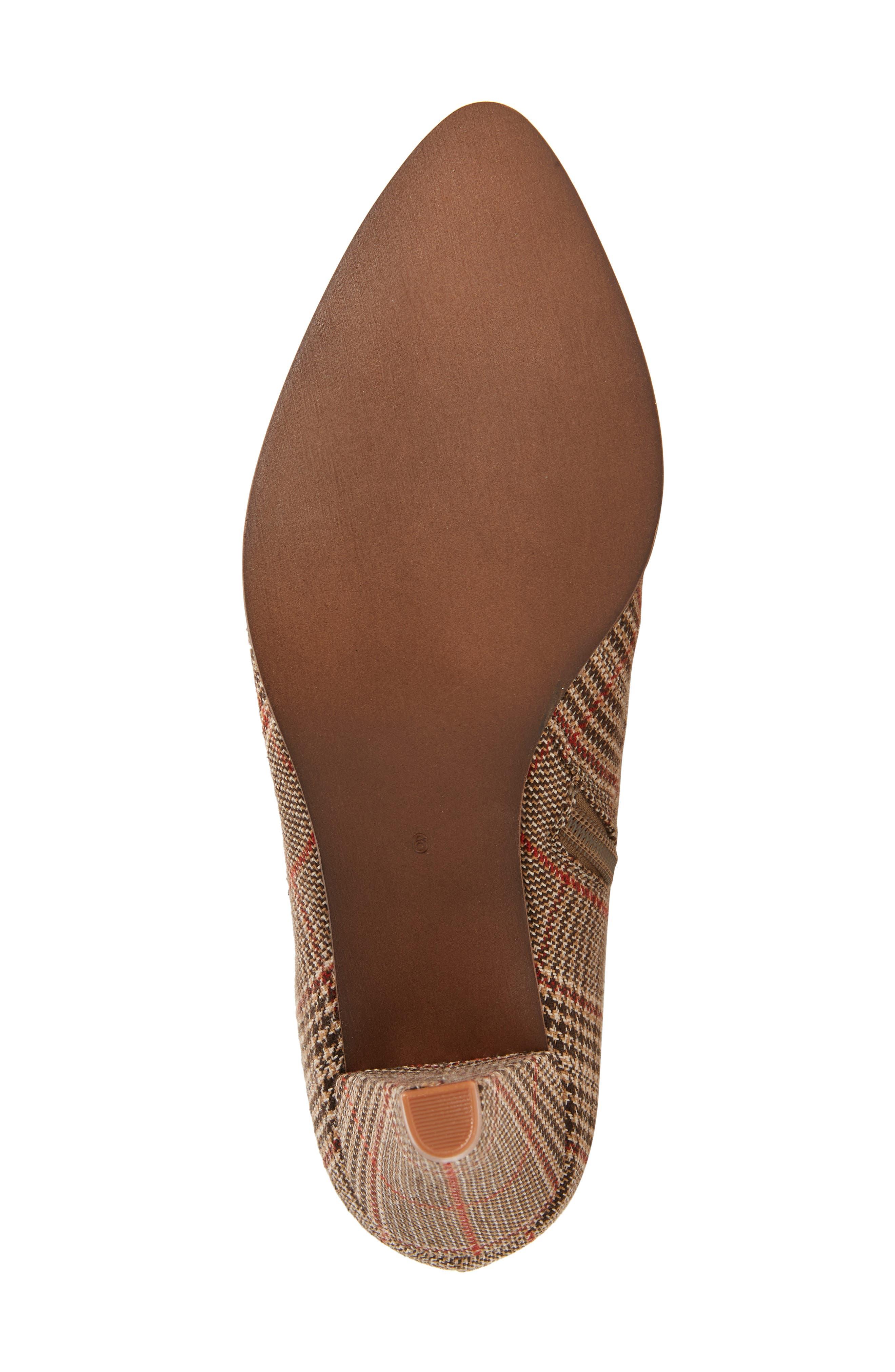 Go-Go-Girl Thigh High Boot,                             Alternate thumbnail 6, color,                             BEIGE PLAID