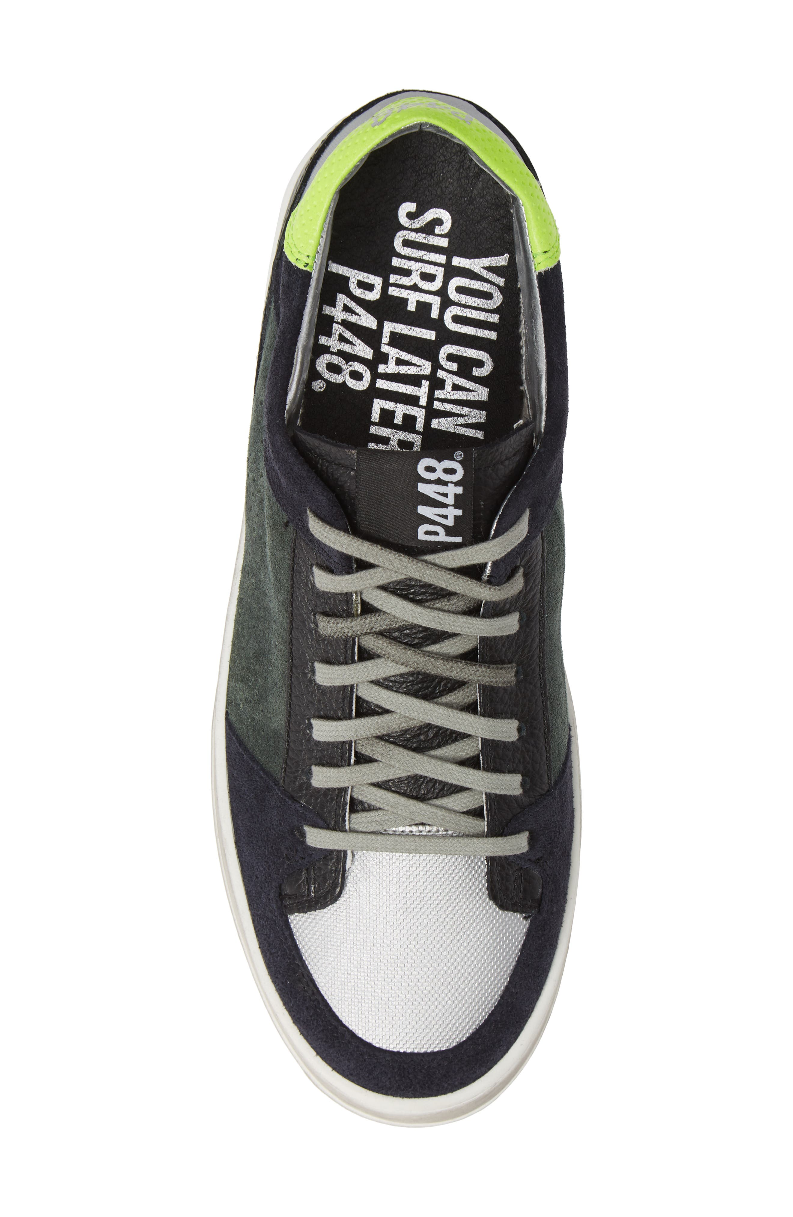 A8Queens Sneaker,                             Alternate thumbnail 5, color,                             WILLOW GREEN