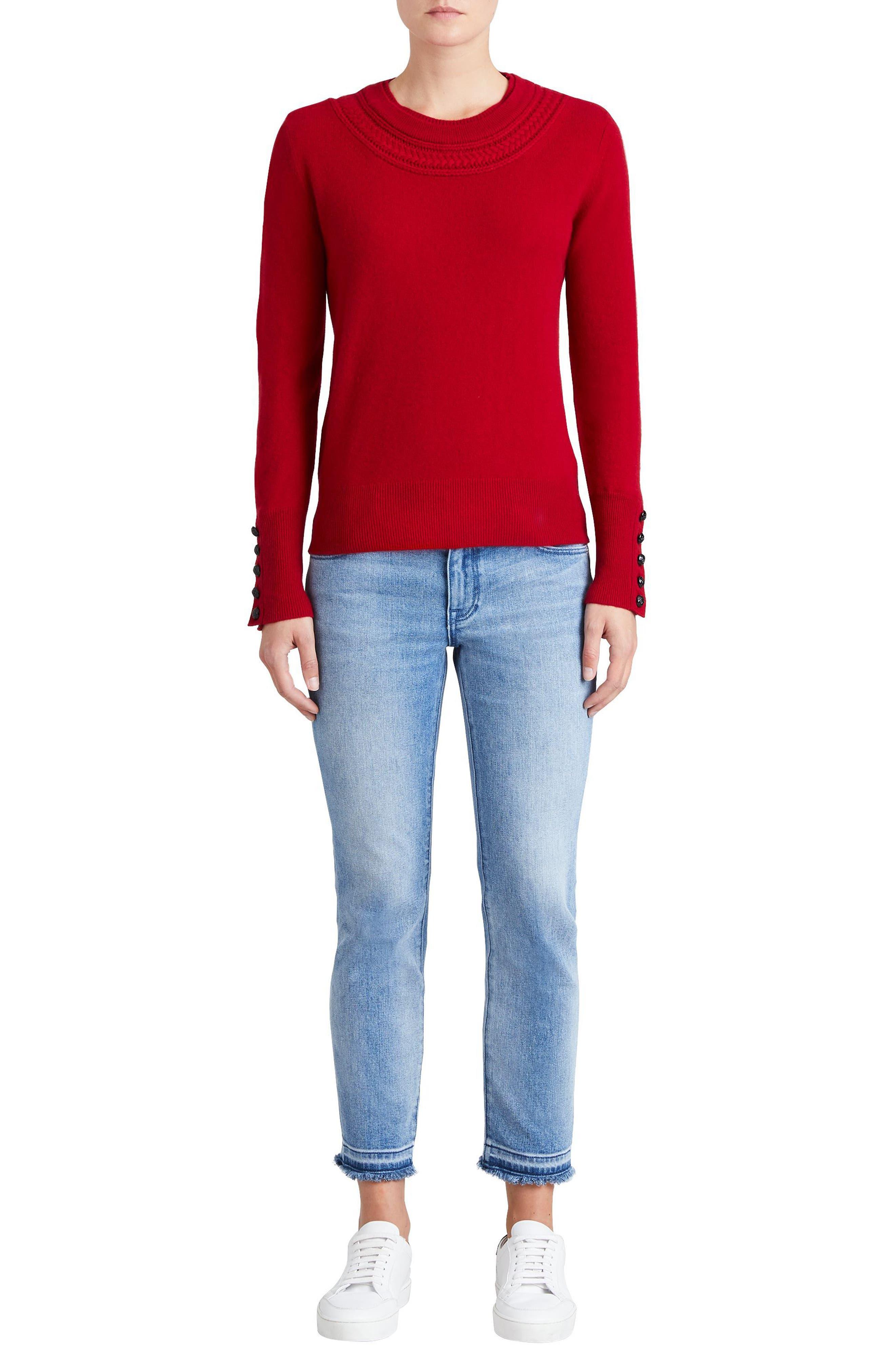 Carapelle Cashmere Sweater,                             Alternate thumbnail 15, color,