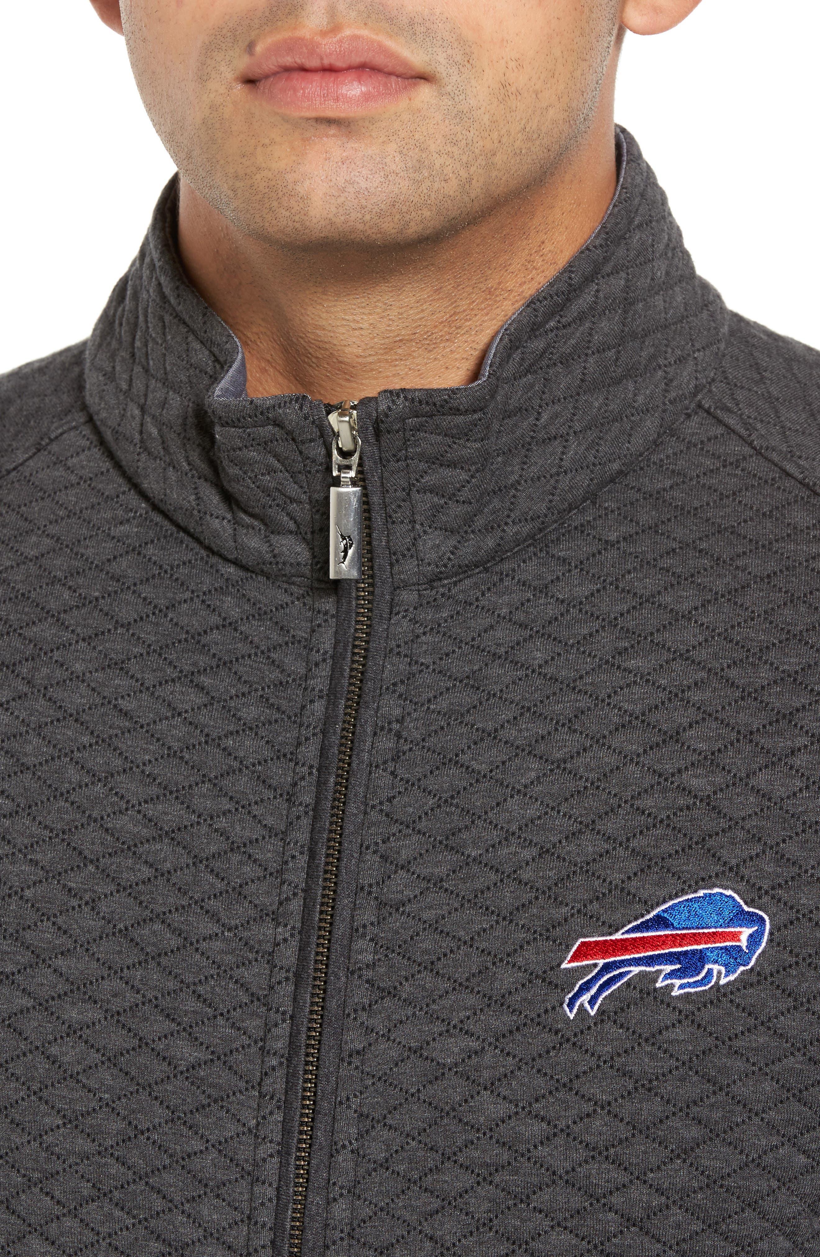 NFL Quiltessential Full Zip Sweatshirt,                             Alternate thumbnail 98, color,