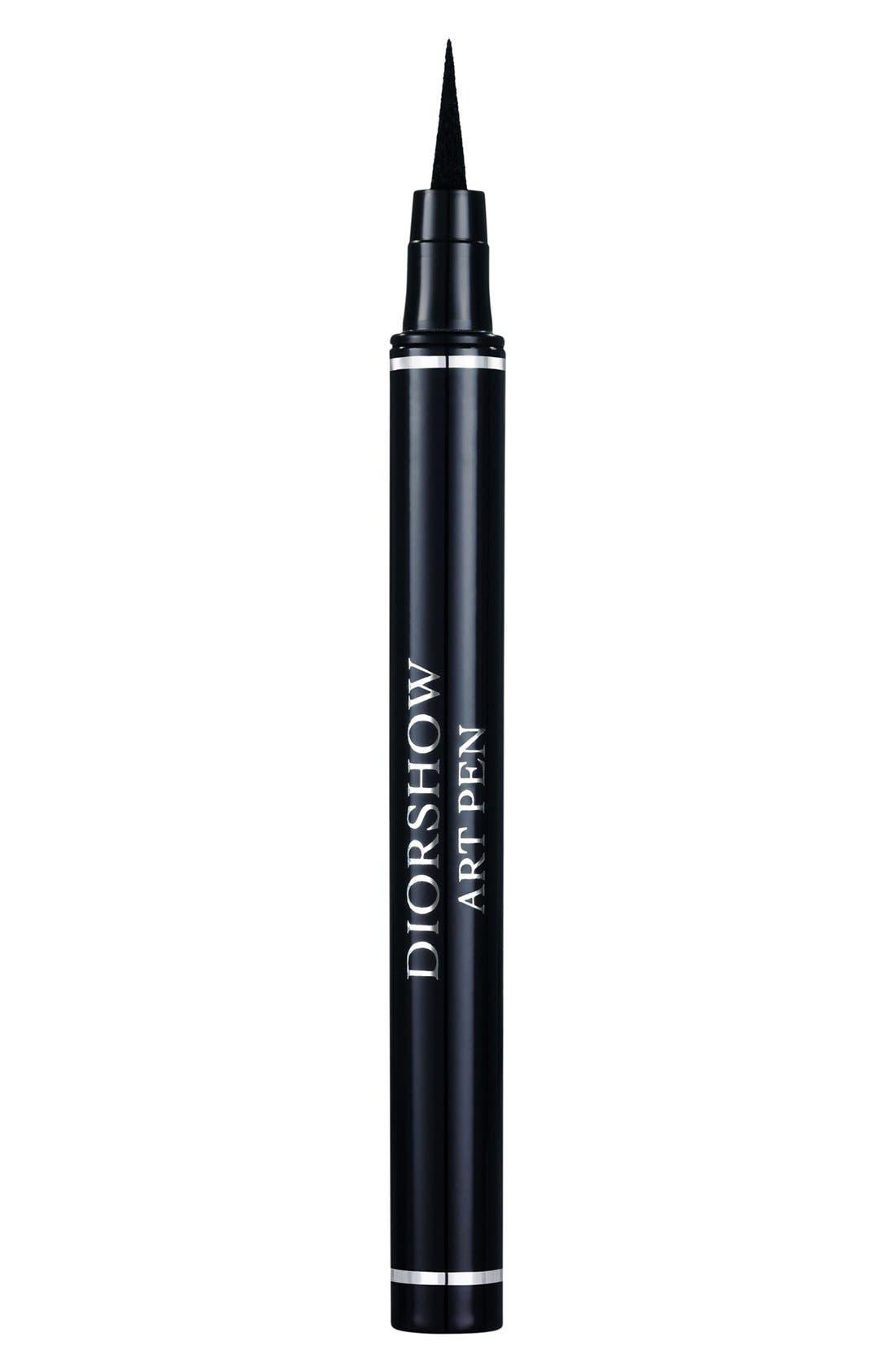'Diorshow Art Pen' Eyeliner,                             Main thumbnail 1, color,                             001