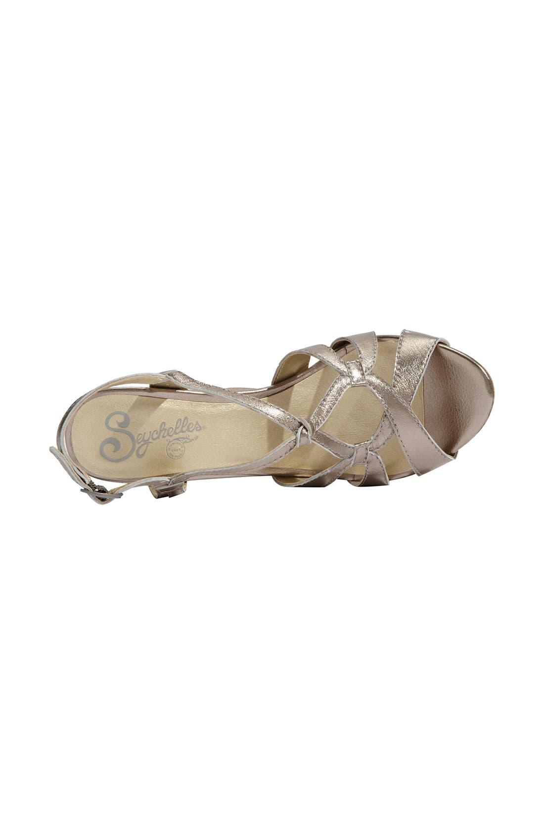 'Purr' Wedge Sandal,                             Alternate thumbnail 3, color,
