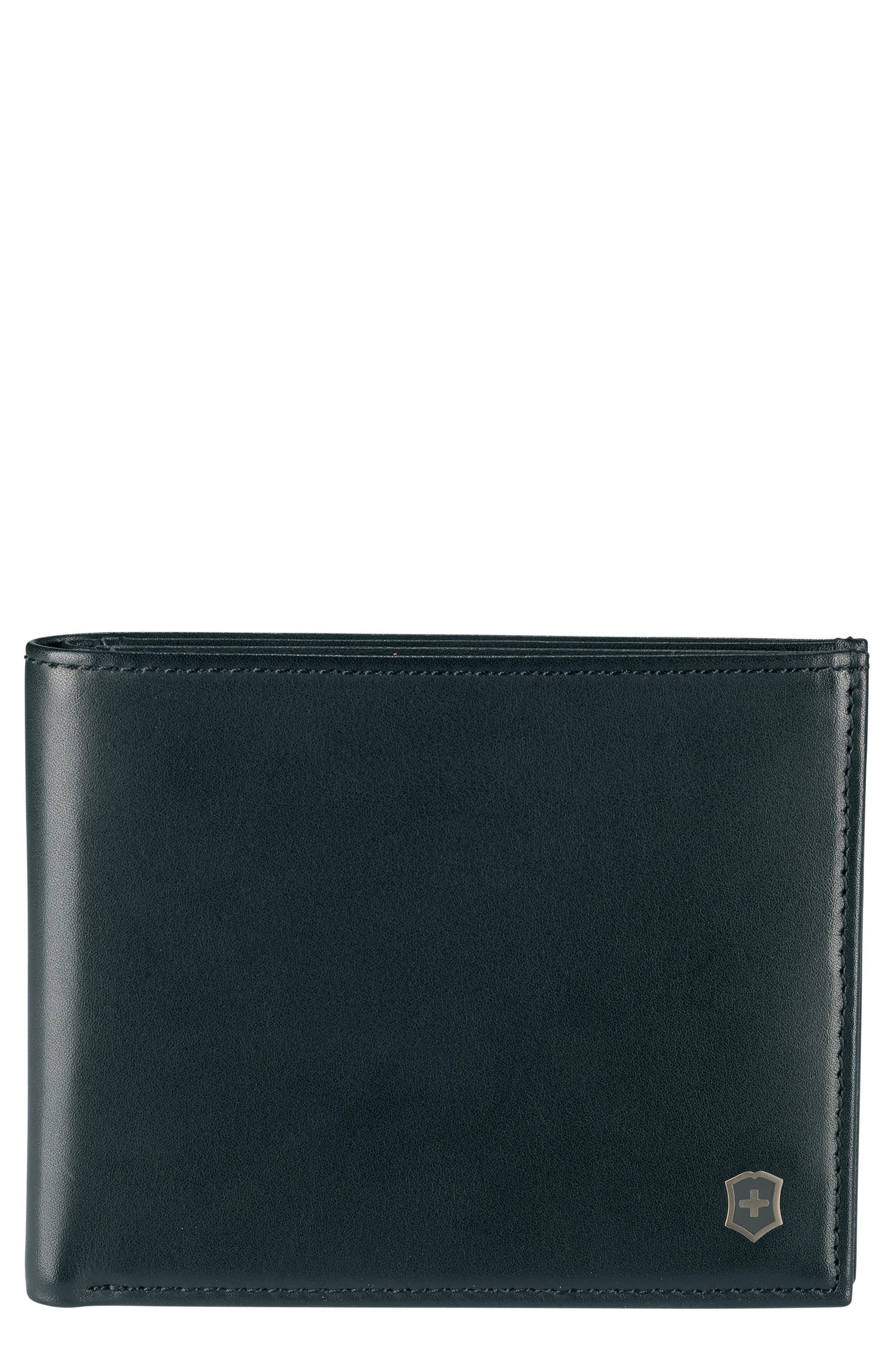 Altius Edge Zenon Wallet,                         Main,                         color, BLACK