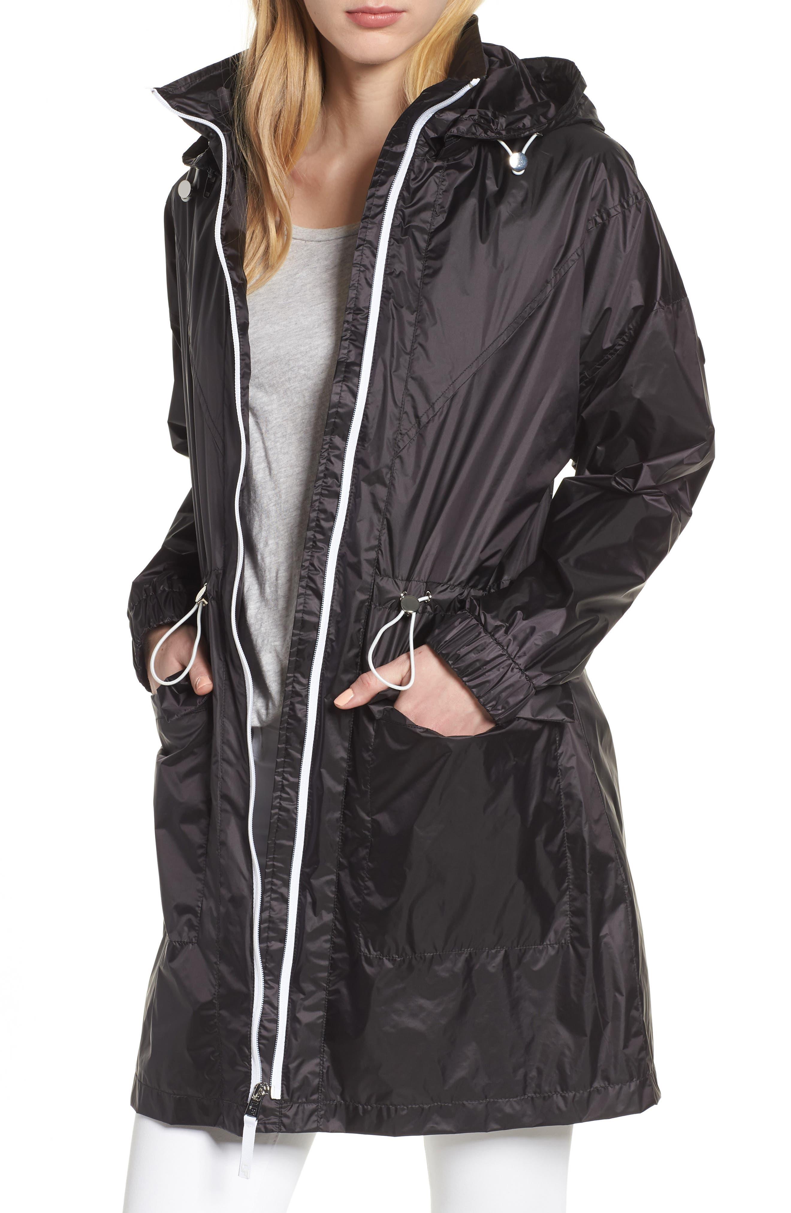 Contrast Zip Anorak Jacket,                         Main,                         color, 001