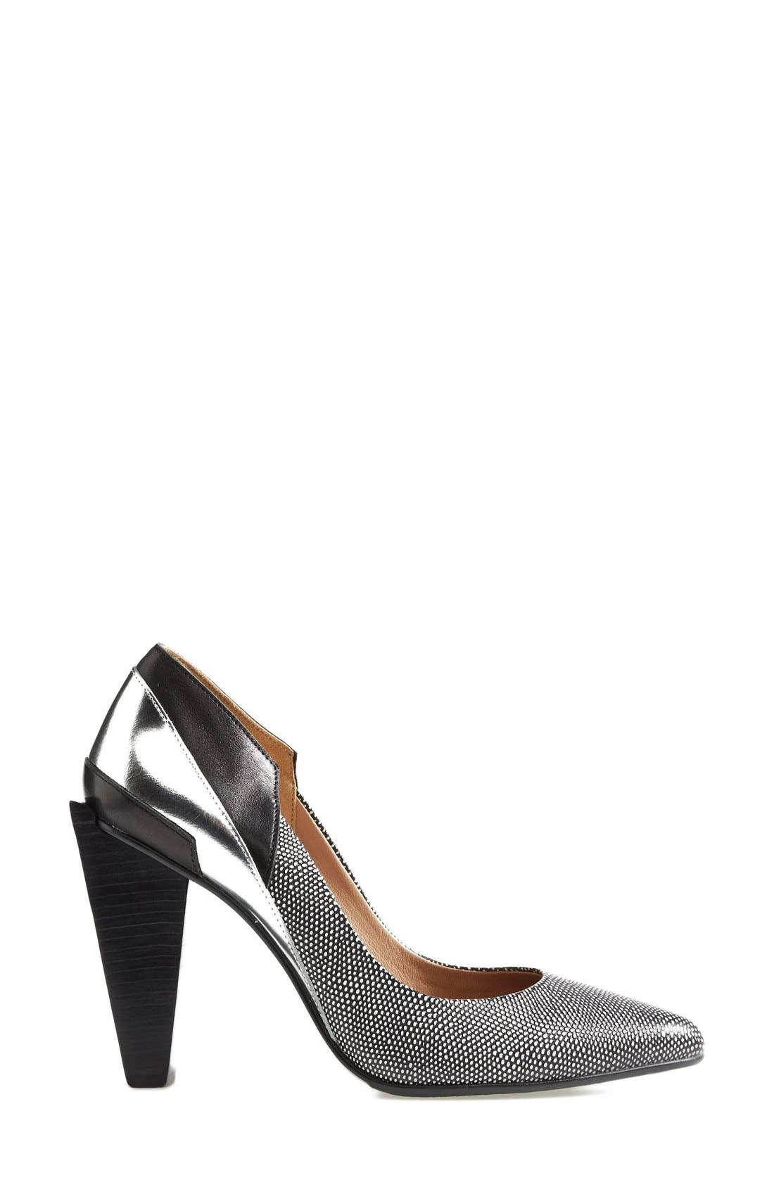 UNITED NUDE COLLECTION,                             'Ruby Hi' Pump,                             Alternate thumbnail 3, color,                             006