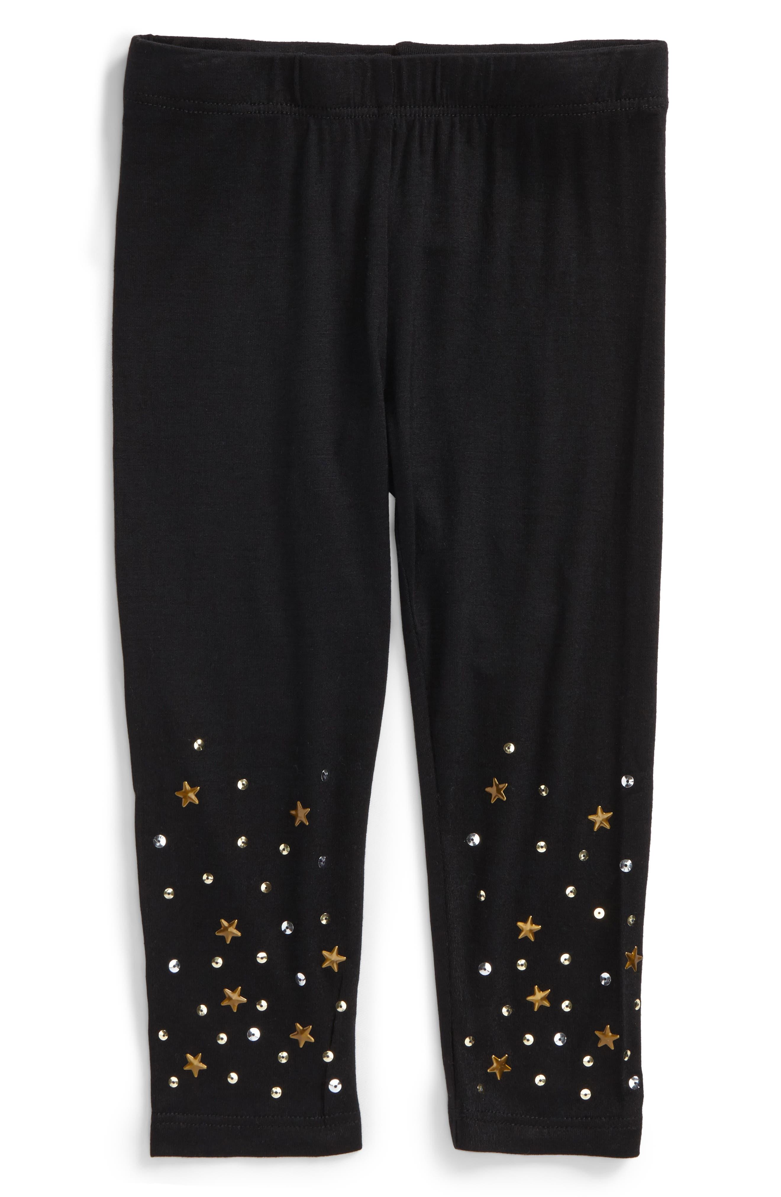 Star & Sequin Leggings,                         Main,                         color, 006