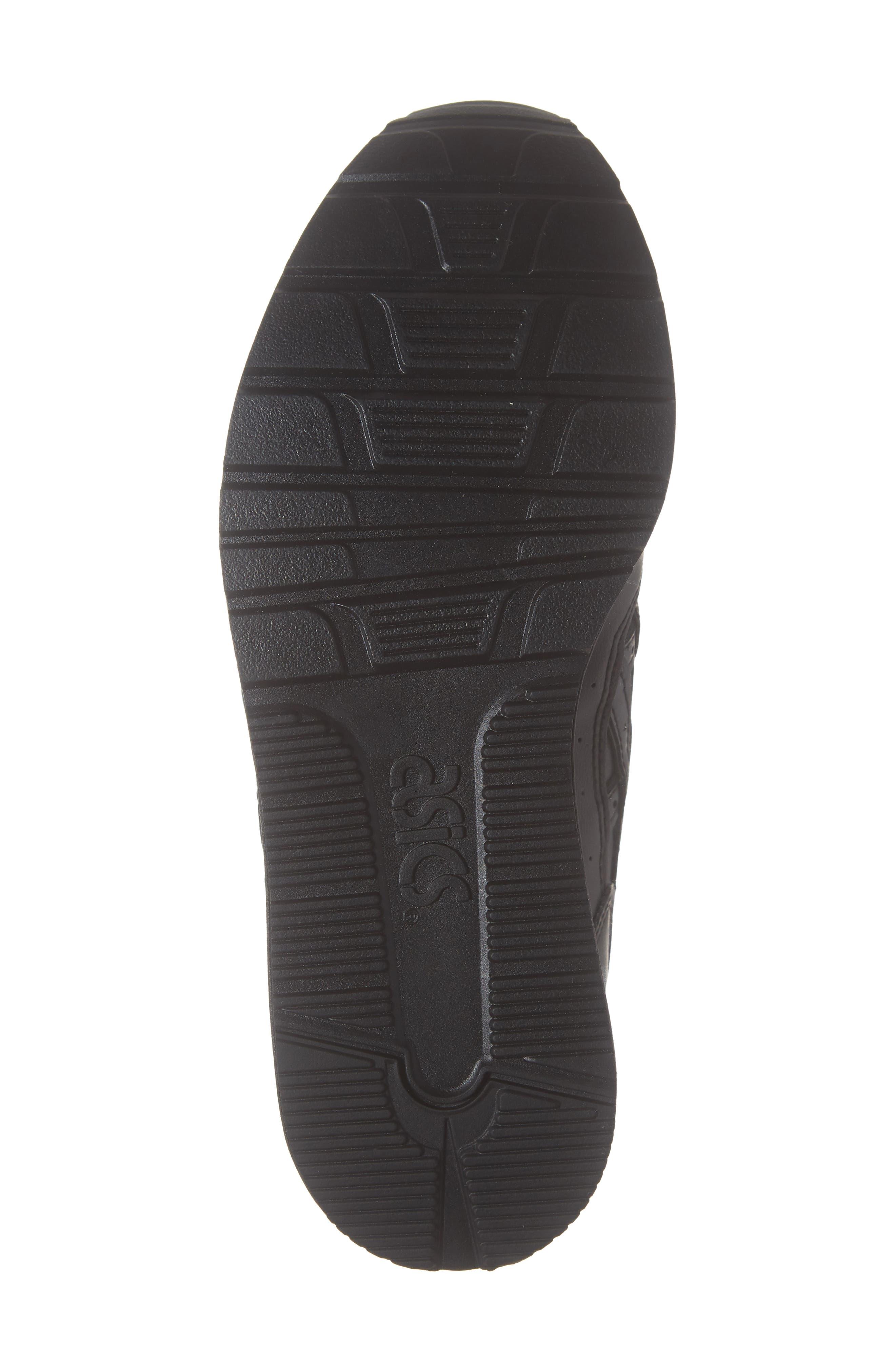 GEL-Lyte III Sneaker,                             Alternate thumbnail 6, color,                             BLACK/ BLACK