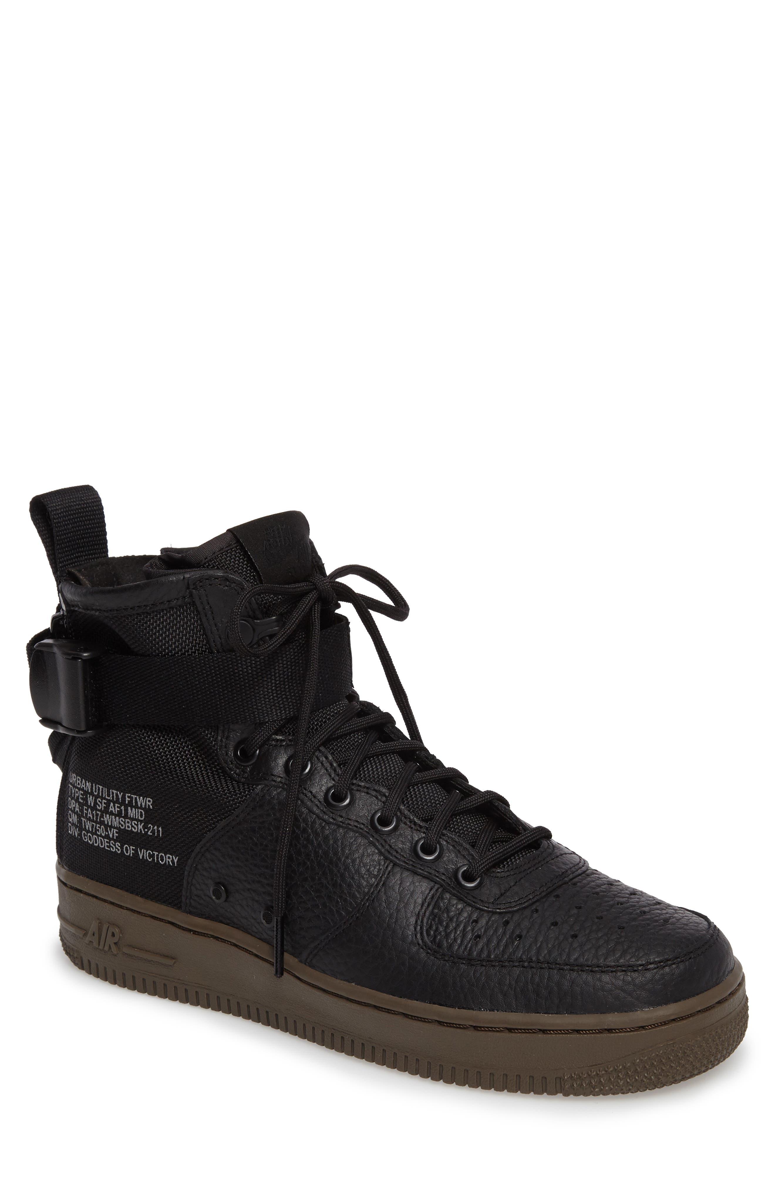 SF Air Force 1 Mid Sneaker,                             Main thumbnail 1, color,                             003