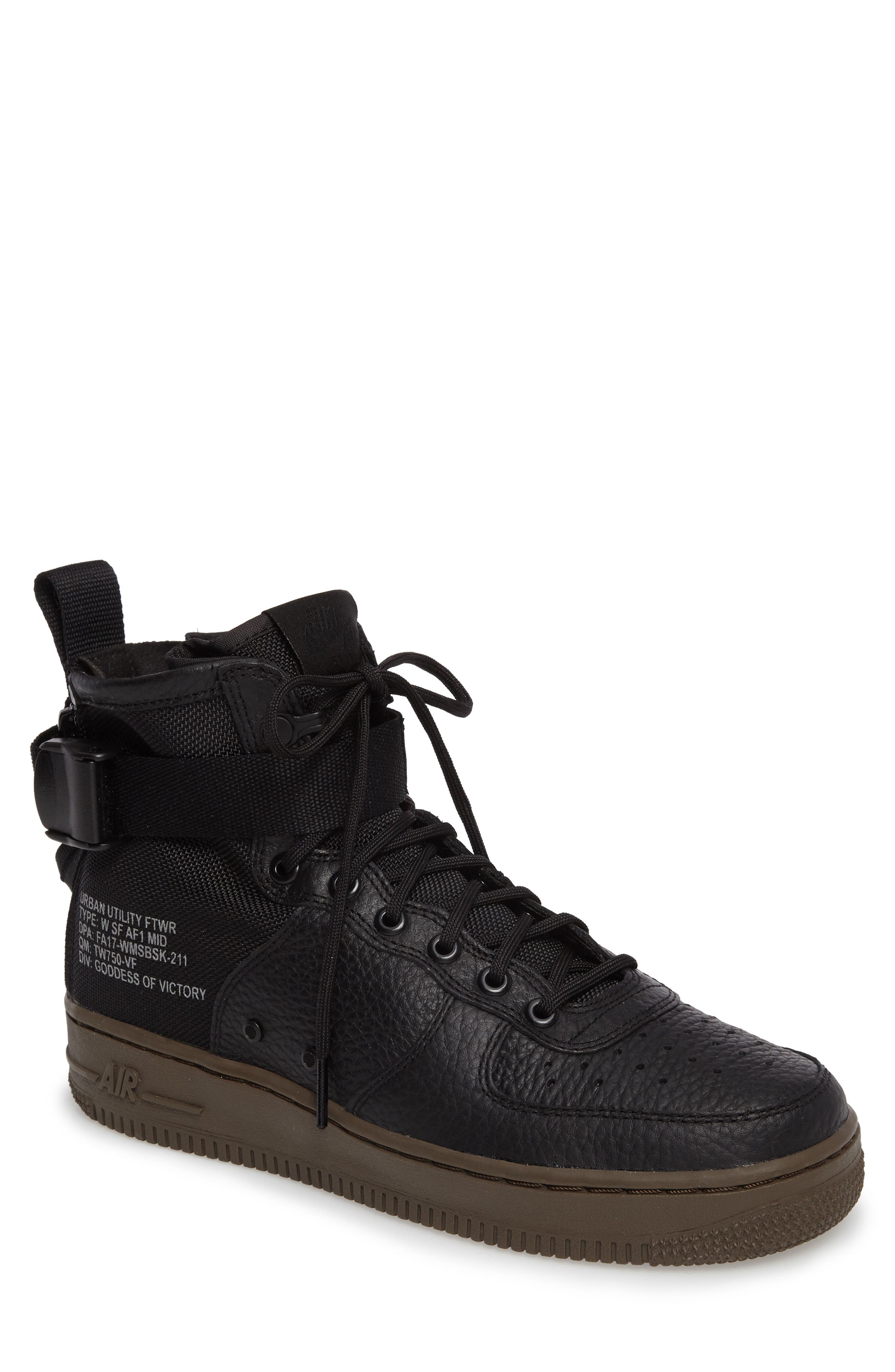 SF Air Force 1 Mid Sneaker,                         Main,                         color, 003
