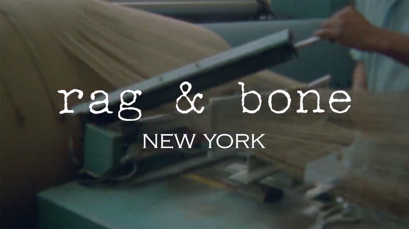 Video: rag & bone's dedication to craftsmanship.