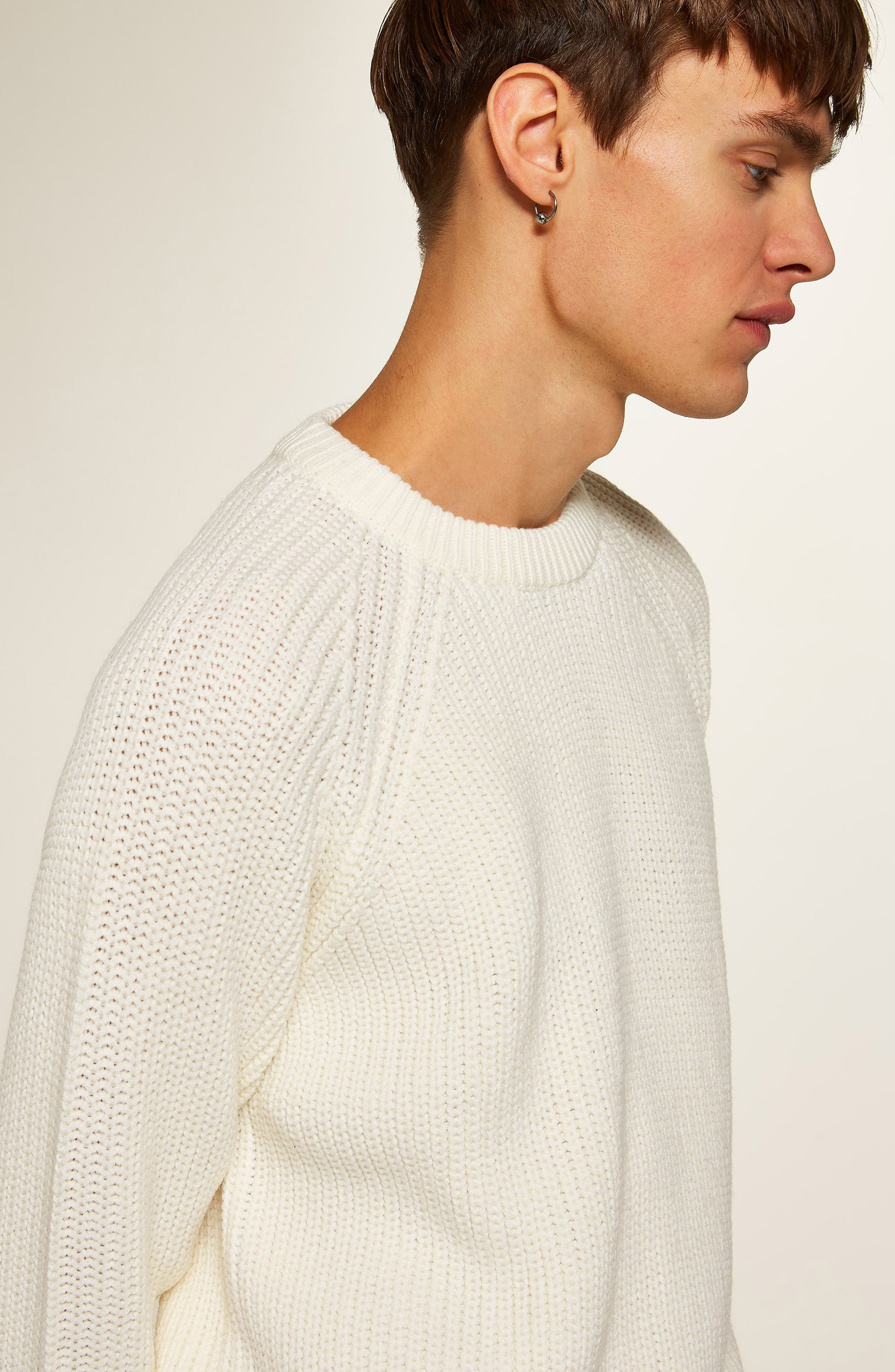 Ribbed Sweater,                             Alternate thumbnail 4, color,                             900