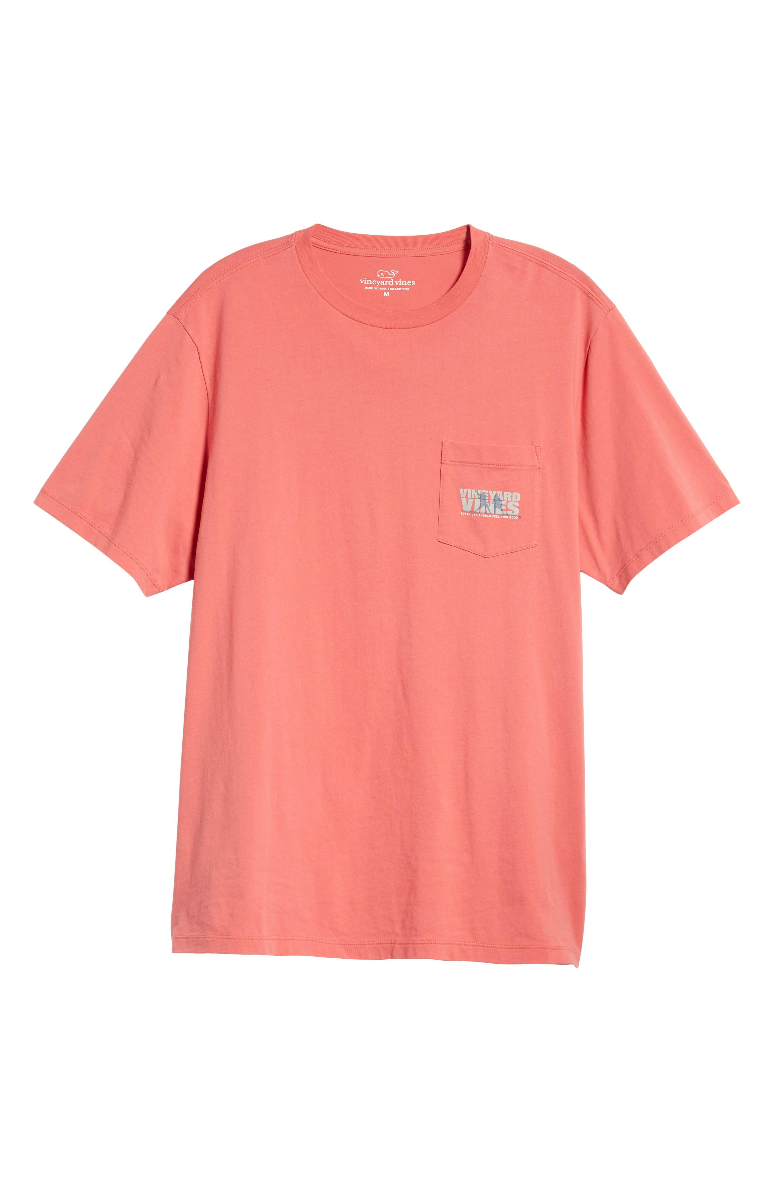 Knockout Lacrosse Pocket T-Shirt,                             Alternate thumbnail 6, color,                             SAILORS RED