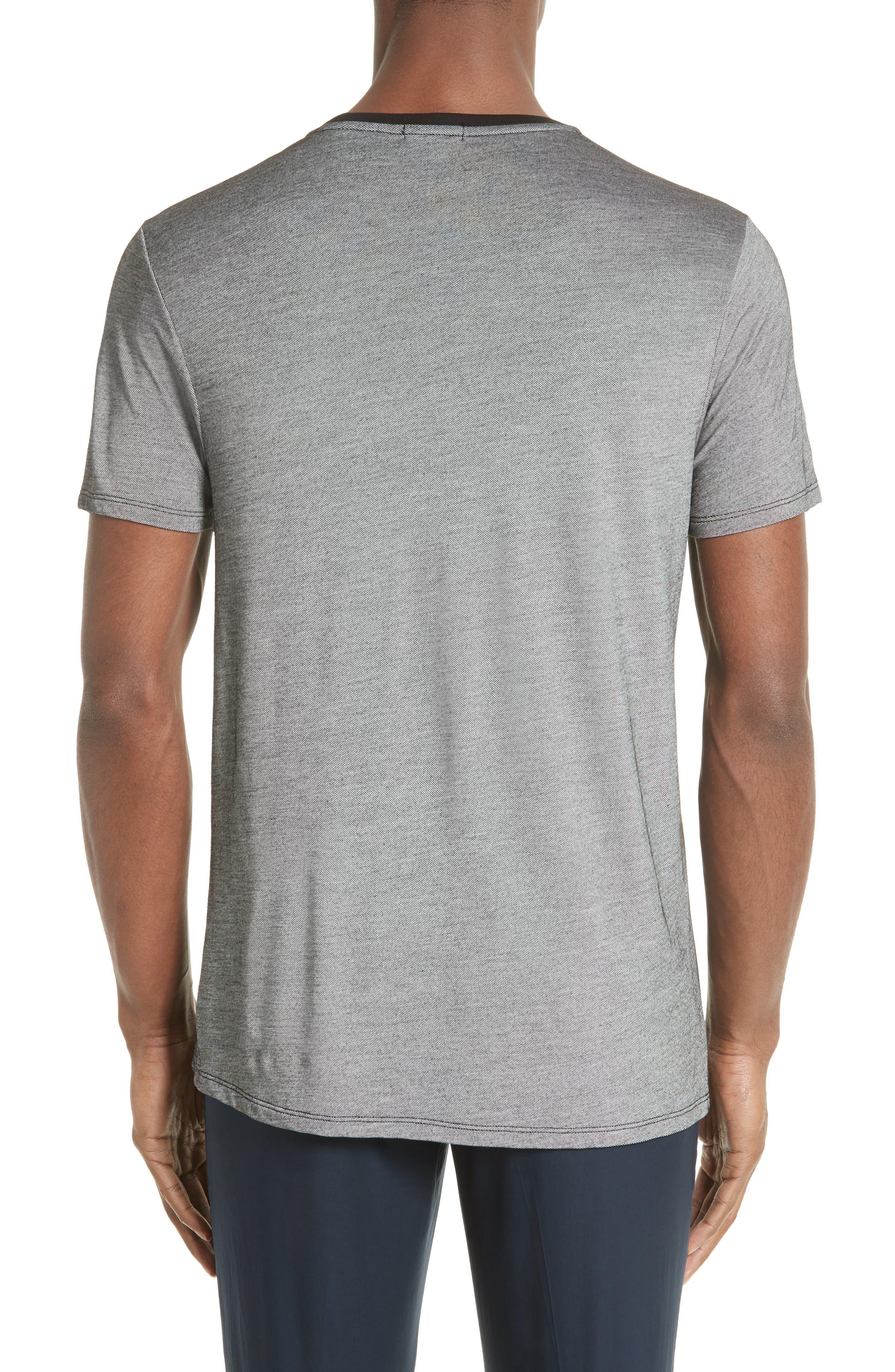 Contrast Crewneck T-Shirt,                             Main thumbnail 1, color,