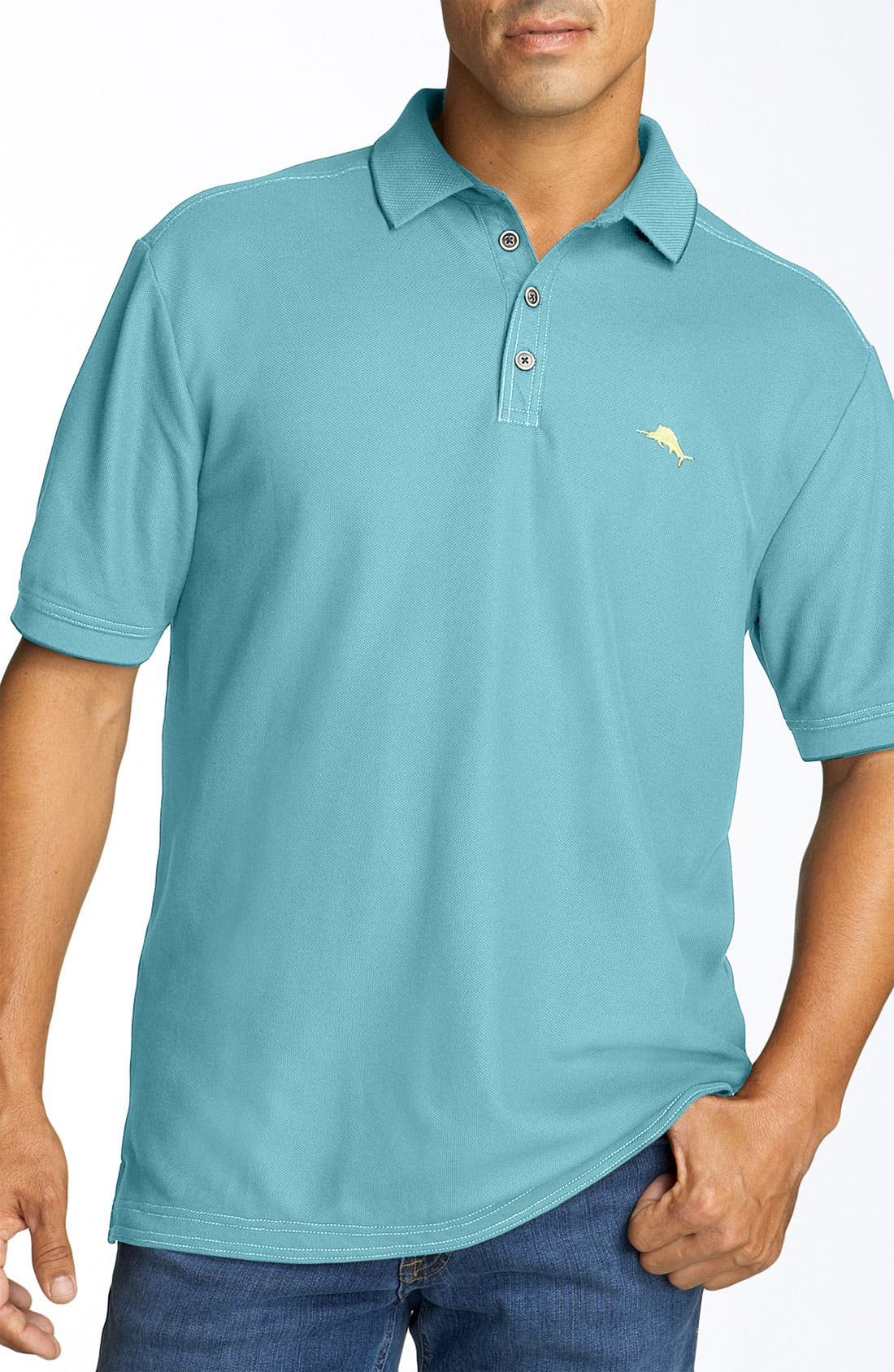 'The Emfielder' Original Fit Piqué Polo,                             Main thumbnail 40, color,