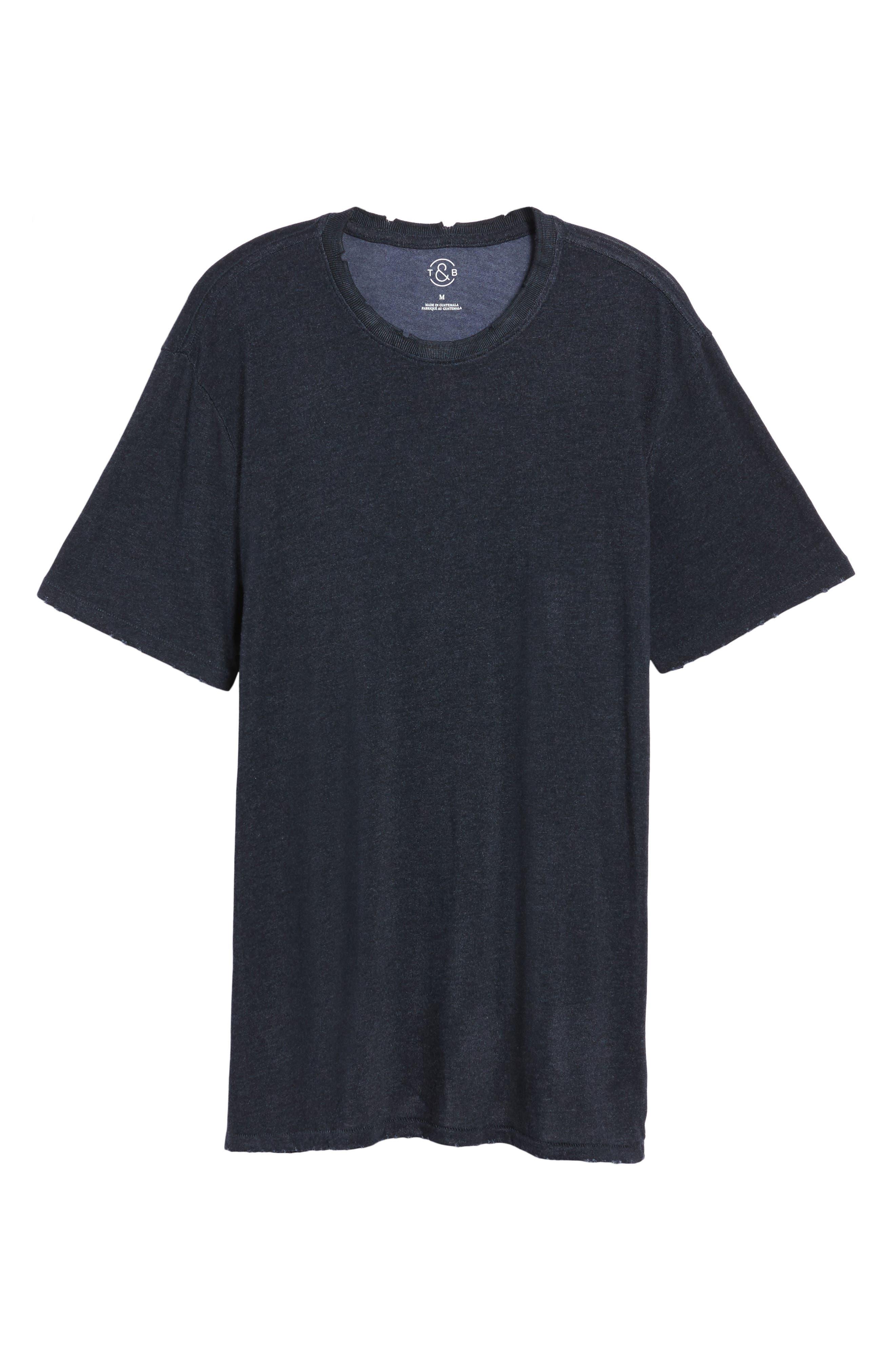 Core Crewneck T-Shirt,                             Alternate thumbnail 6, color,                             410
