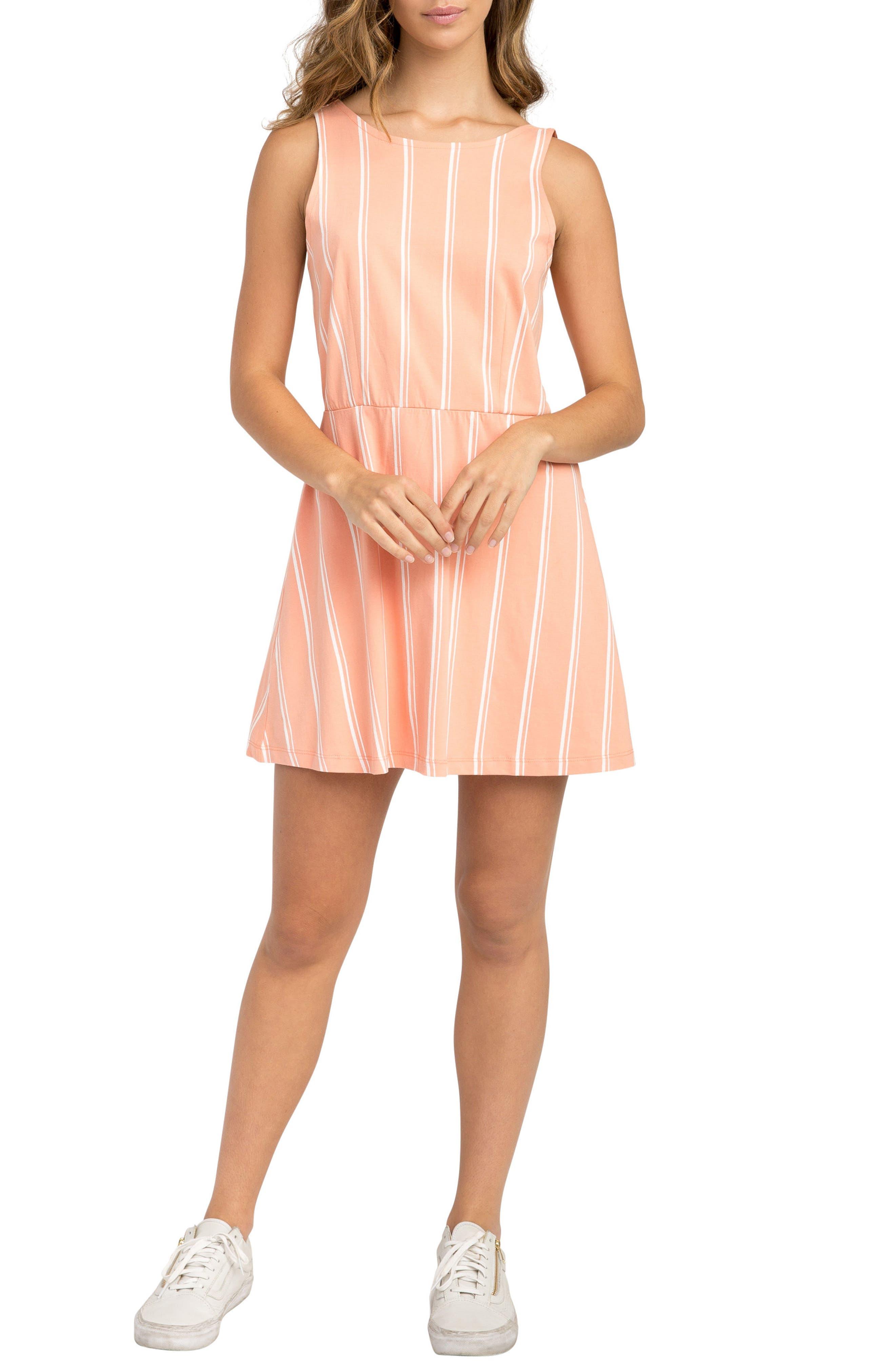 Peony Stripe Sundress,                             Main thumbnail 2, color,