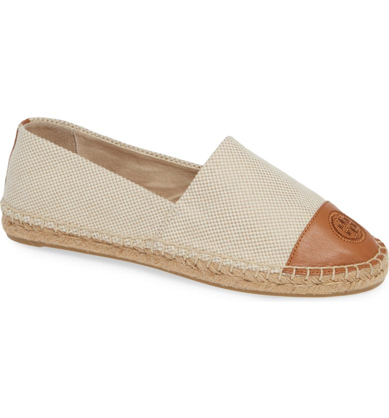 Check Prices Tory Burch Colorblock Espadrille Flat (Women) Buy & Reviews