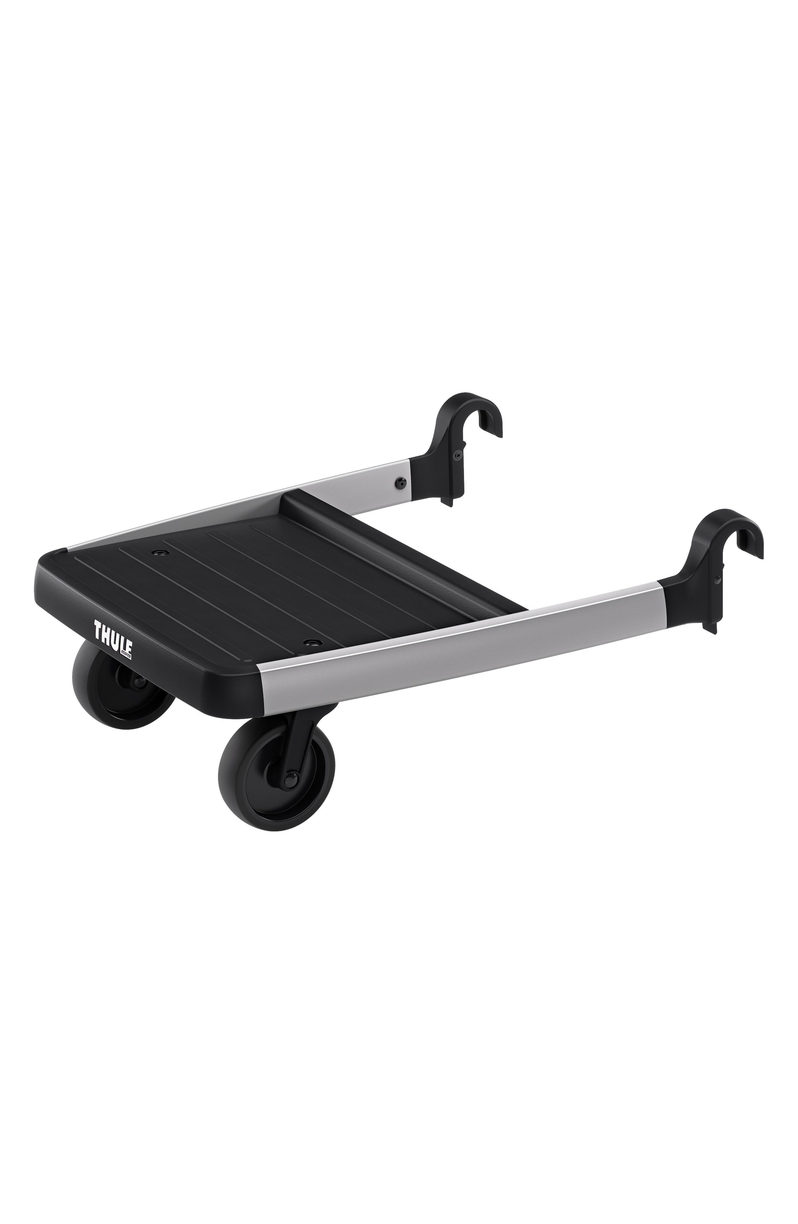 Glider Board Attachment for Thule Sleek Stroller,                             Main thumbnail 1, color,                             BLACK/ SILVER