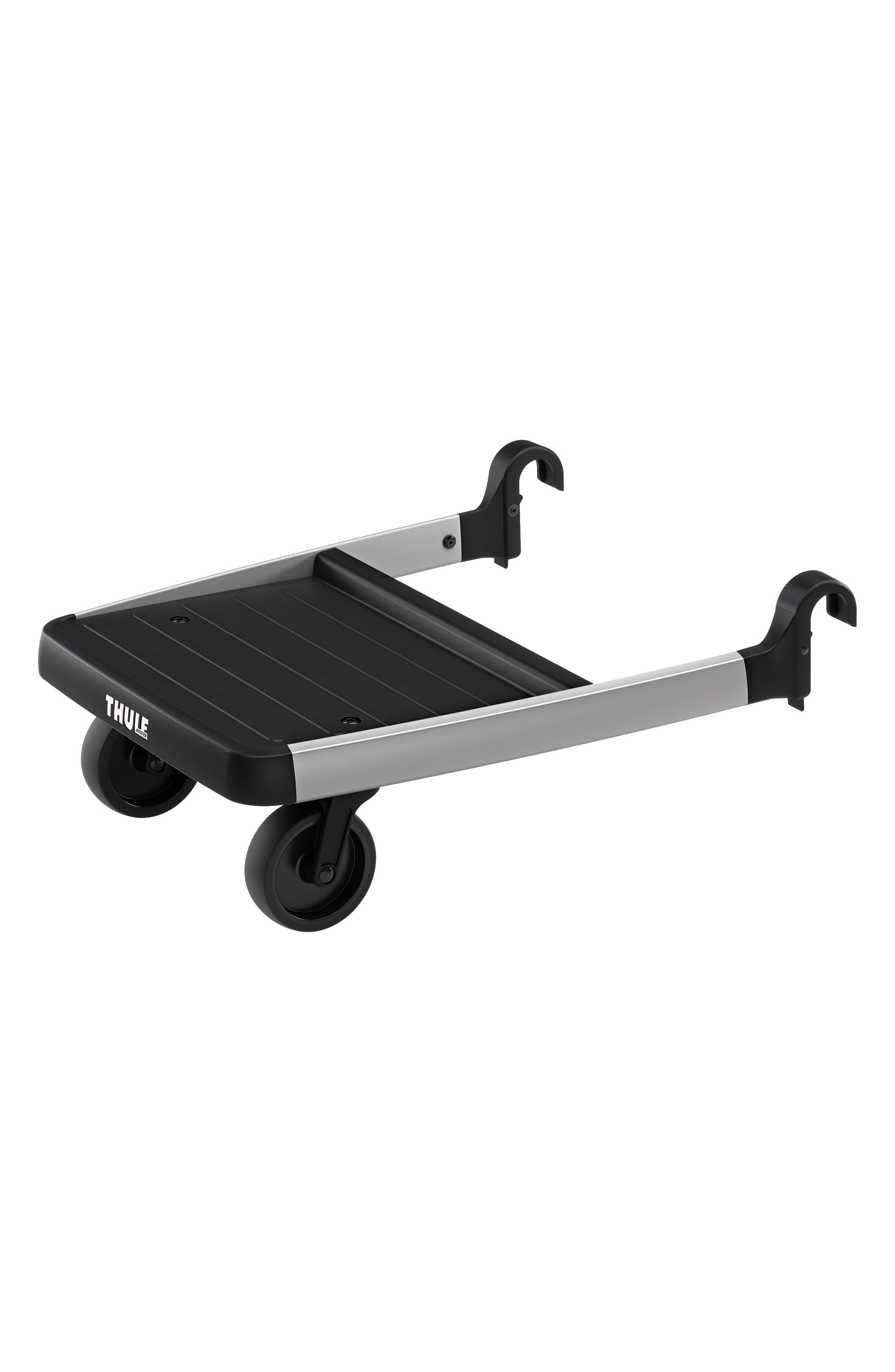 Glider Board Attachment for Thule Sleek Stroller, Main, color, BLACK/ SILVER