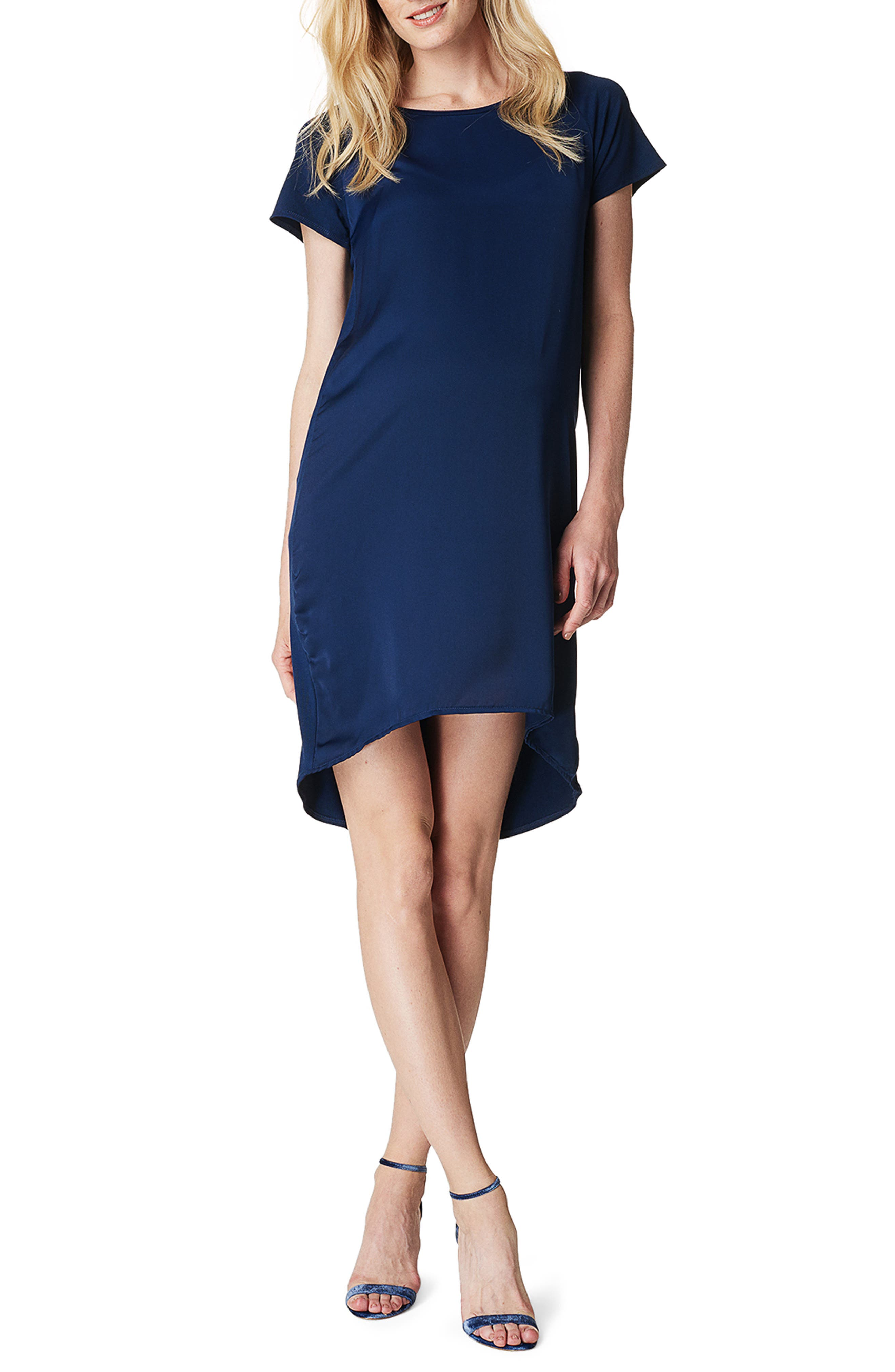 Noppies Carrie Maternity Shift Dress, Blue