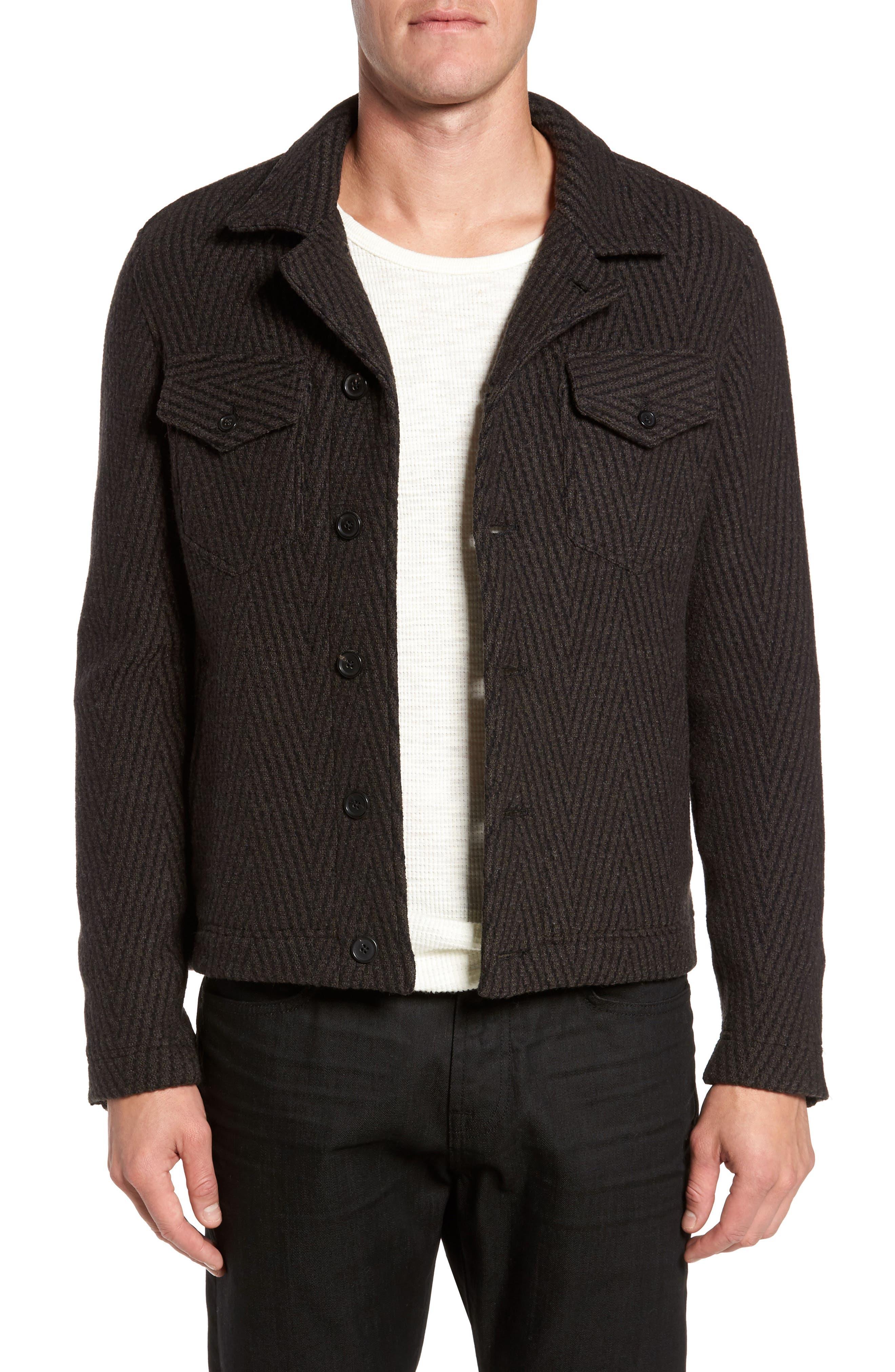 Berger Wool Shirt Jacket,                             Main thumbnail 1, color,                             200