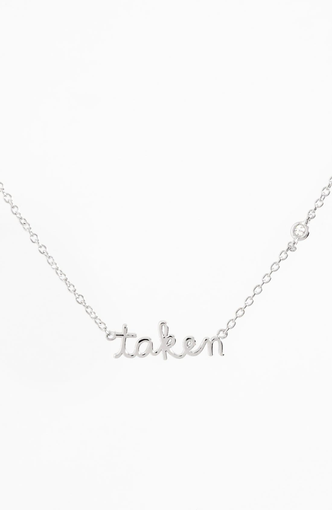 Shy by SE Taken Necklace,                             Main thumbnail 1, color,